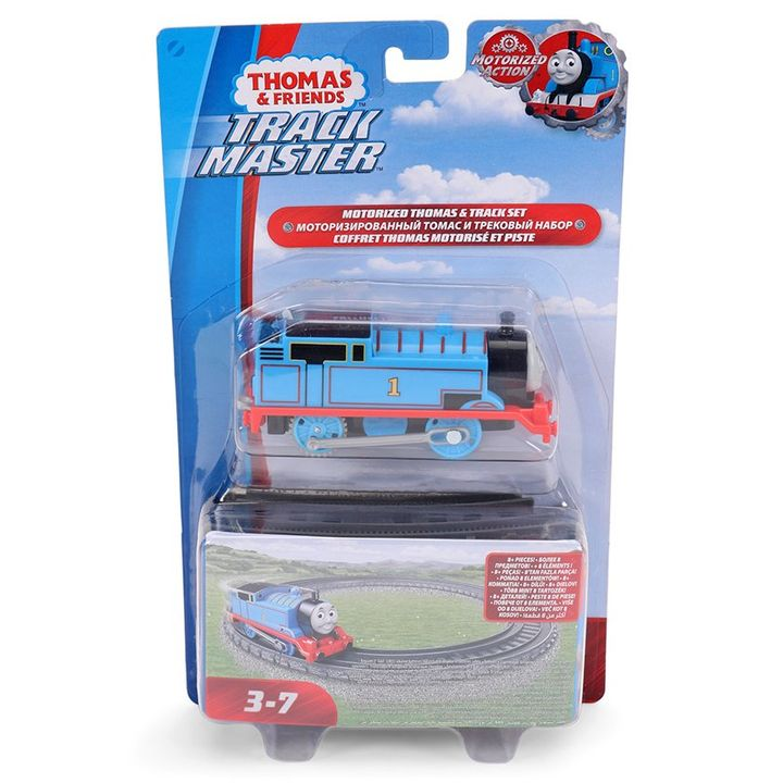 Thomas & Friends TrackMaster Motorized Track Set Blue for (3-7 Years)  Online India, Buy at FirstCry com - 2681704