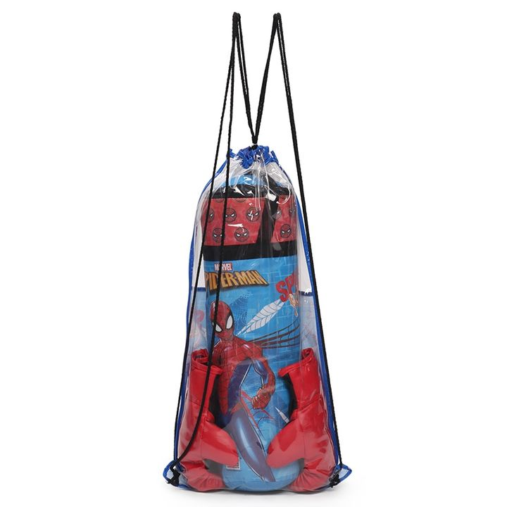Boxing Gloves Movies Kids Spiderman Avengers Printing Boxing Punching Bag Empty