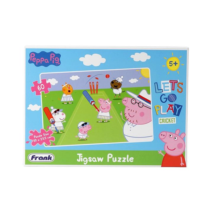 a79fc4add710 Frank Peppa Pig Cricket Jigsaw Puzzle Multicolour 60 Pieces Online India,  Buy Puzzle Games & Toys for (5-8 Years) at FirstCry.com - 2907703