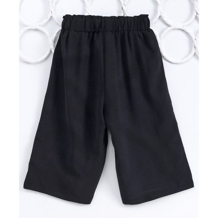 Buy Kookie Kids Three Fourth Pants With Clip On Black for Girls (3-4 Years)  Online in India, Shop at FirstCry com - 2980414