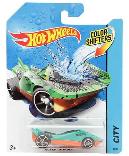Hotwheels Color Shifter Super Stinger Info