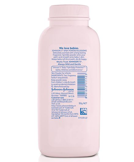 Johnsons baby Powder Blossoms 50 gm Online in India, Buy at Best Price from  Firstcry com - 46835