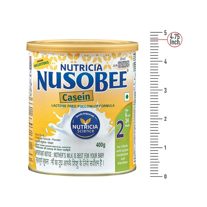 Nusobee Casein 2 Follow Up Formula 400 gm Online in India, Buy at Best  Price from Firstcry com - 639159