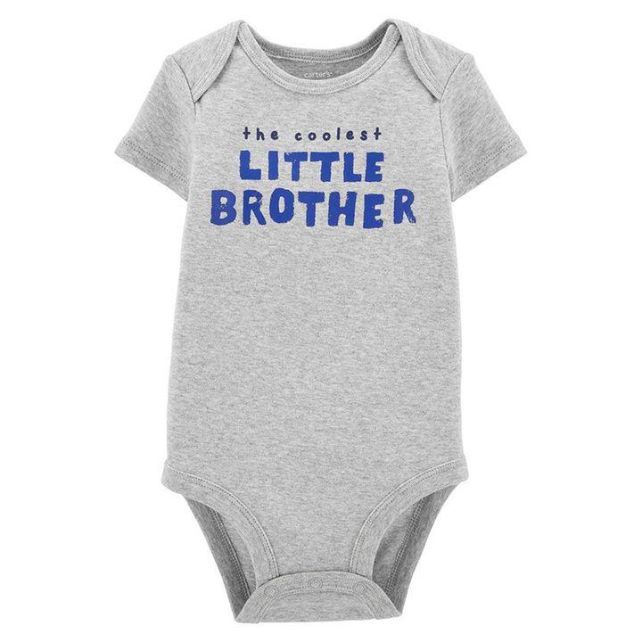 Fisher-Price Kids 2pk Bodysuits Underwear Grey 12M