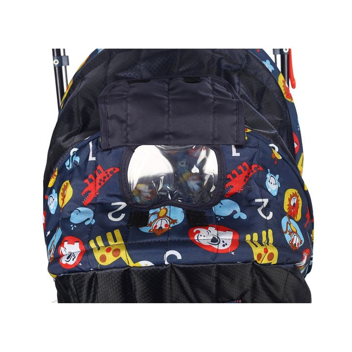 Babyhug Cosy Cosmo Stroller With Reversible Handle & Back Pocket Navy Blue  Online in India, Buy at Best Price from Firstcry com - 827163