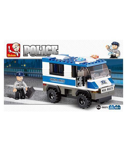 Sluban Police Van Toy +info