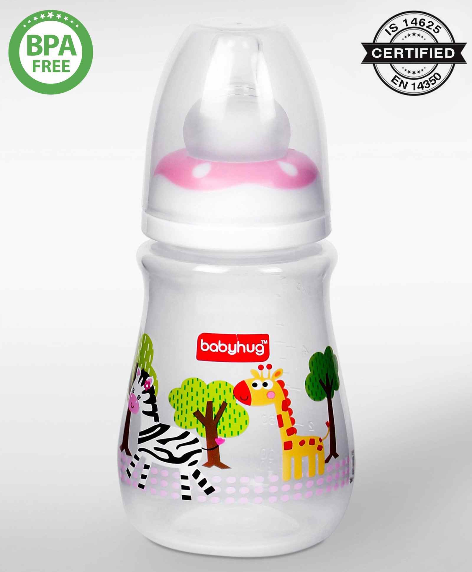 Babyhug Polypropylene Drop Feeding Bottle Pink 150 Ml Online In Beauty Barn Mom All Mane Hair Shampo0 250 Select Color