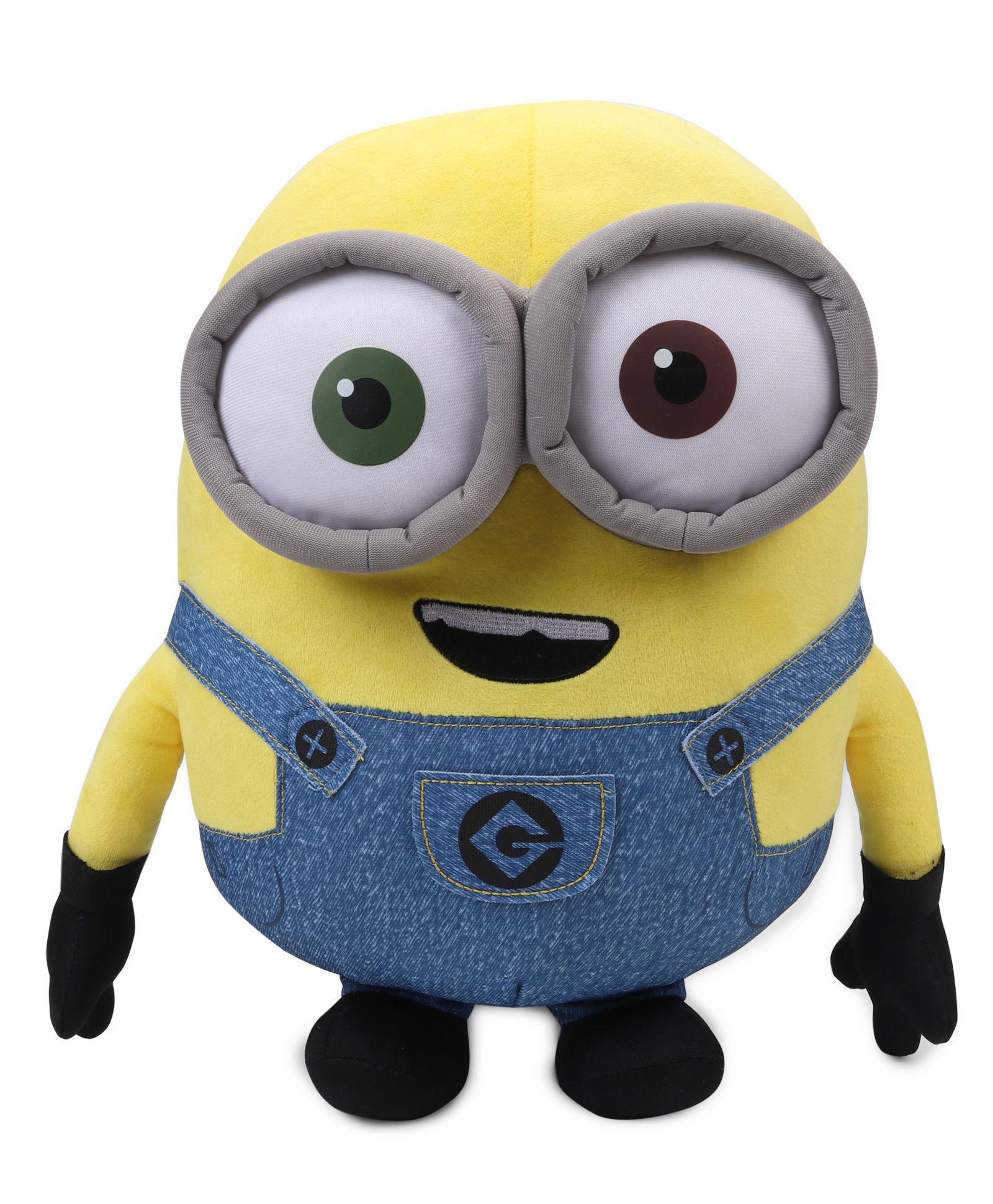 Sensational Minions Bob Plush Toy Blue Yellow Height 40 Cm Online India Bralicious Painted Fabric Chair Ideas Braliciousco
