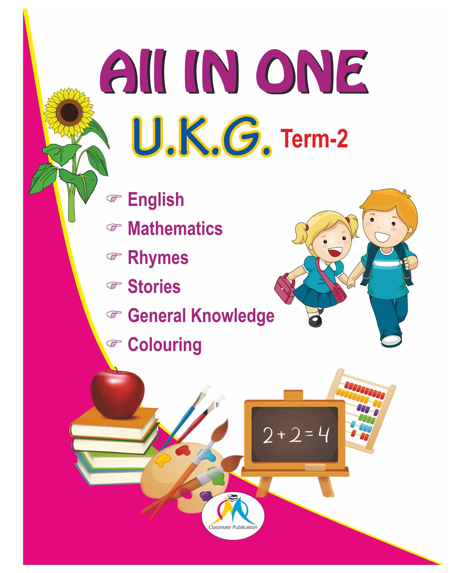 All In One Book For UKG Term 2 English Online in India, Buy at Best Price  from Firstcry com - 1636016