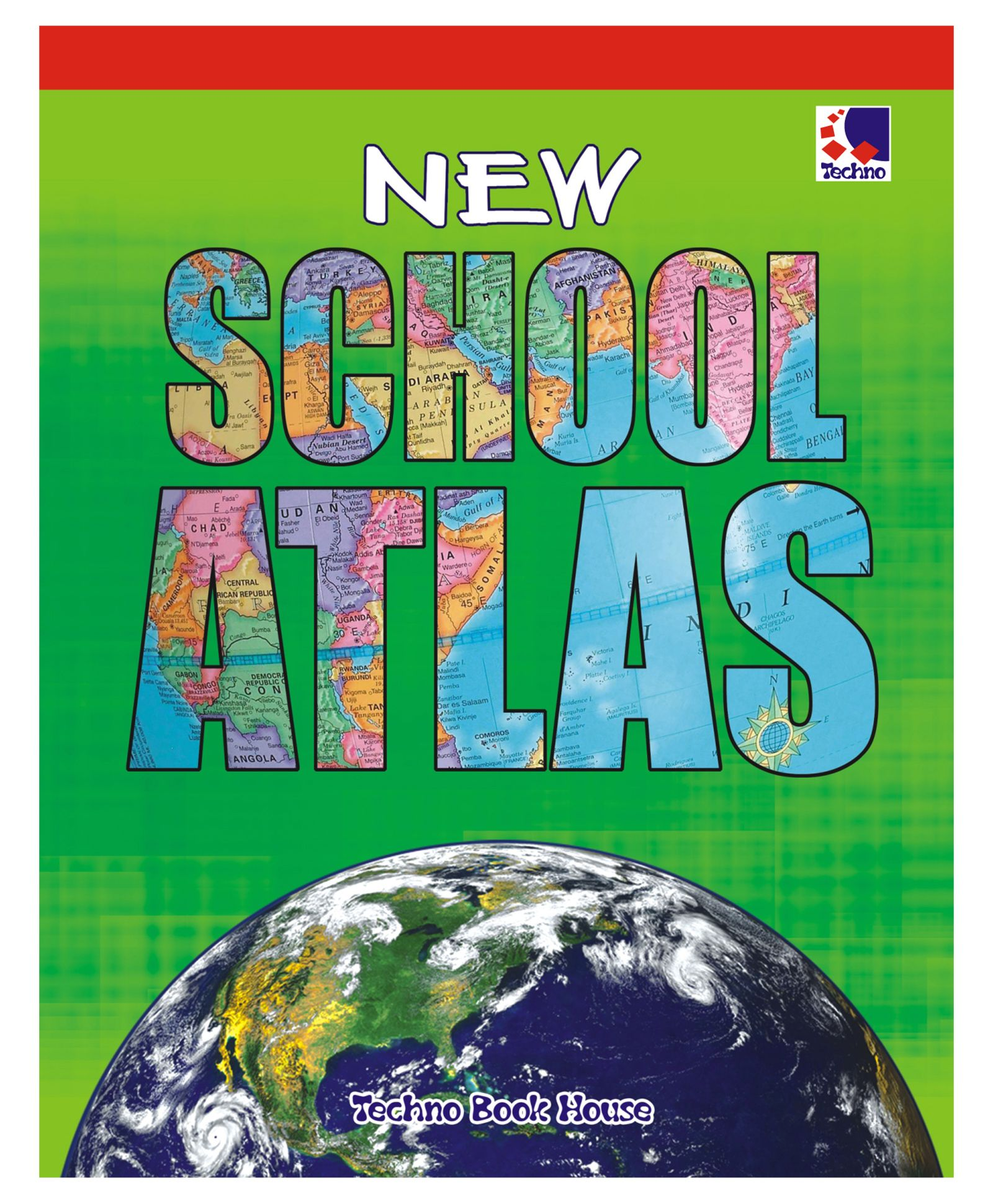 New School Atlas Book English Online in India, Buy at Best Price from  Firstcry com - 1636037