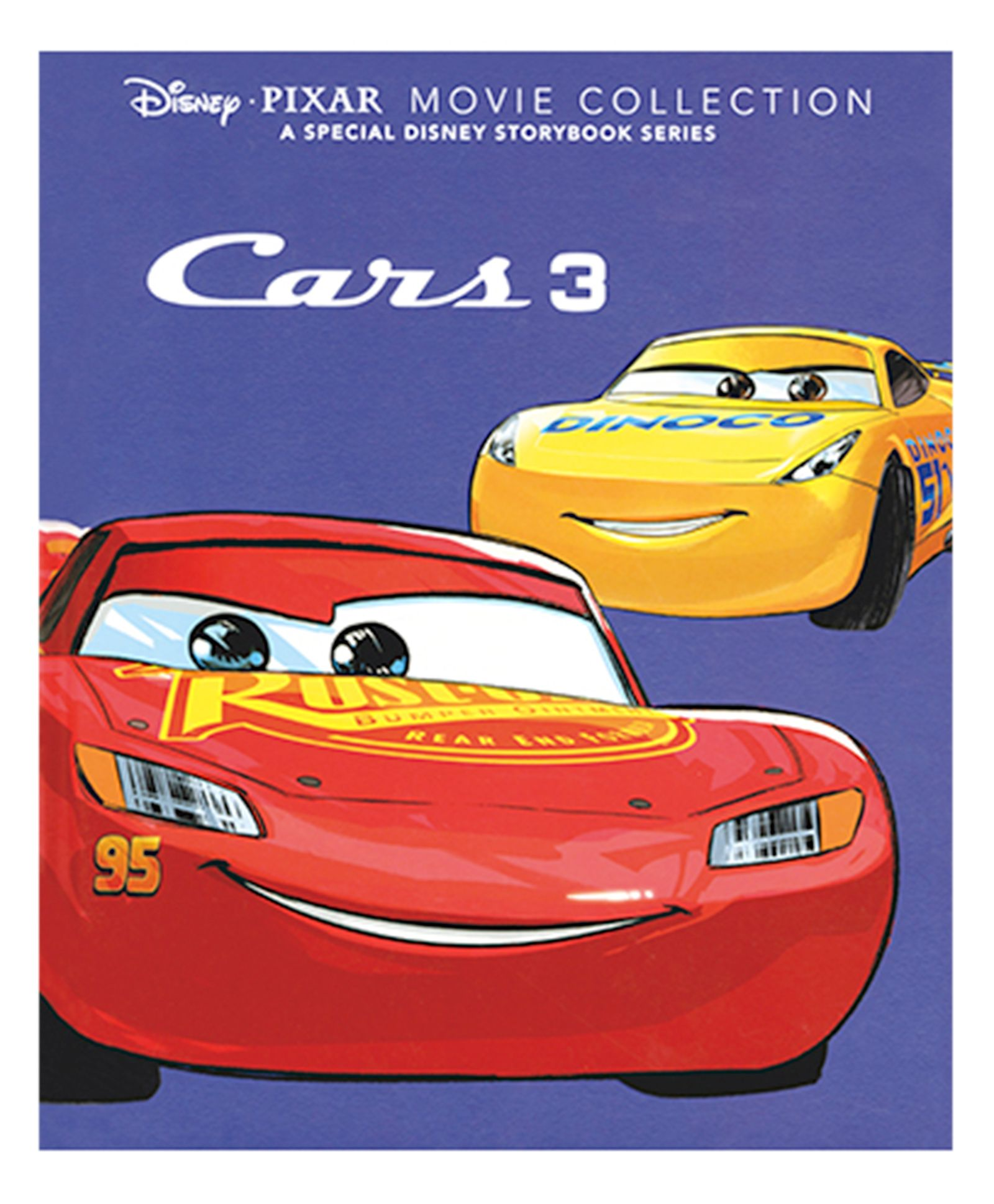 Disney Pixar Movie Collection Cars 3 Story Book English Online In