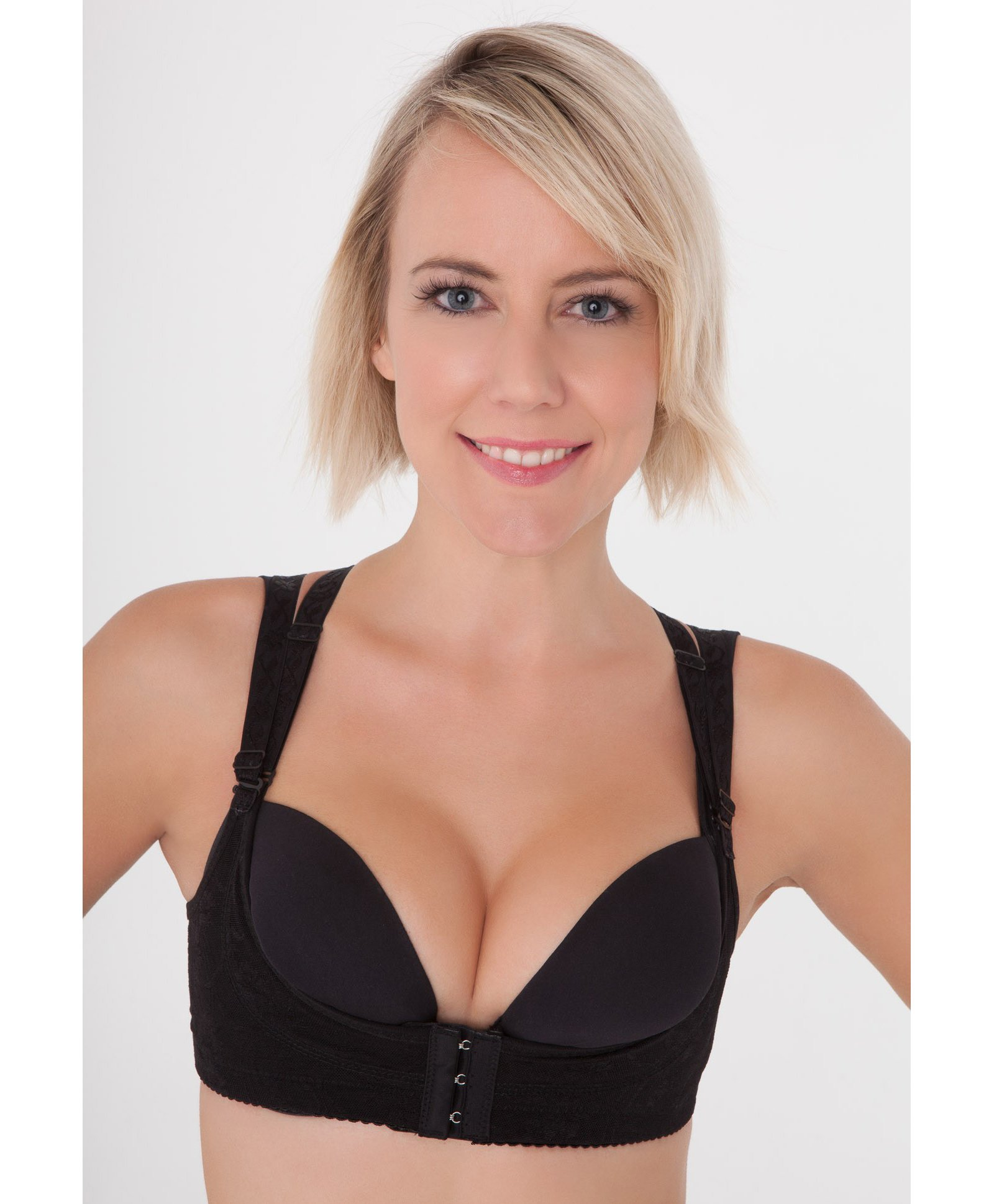 d6a9dc9ac3a36 Aaram Breast Reshaper Push Up Bra Black Online in India, Buy at ...