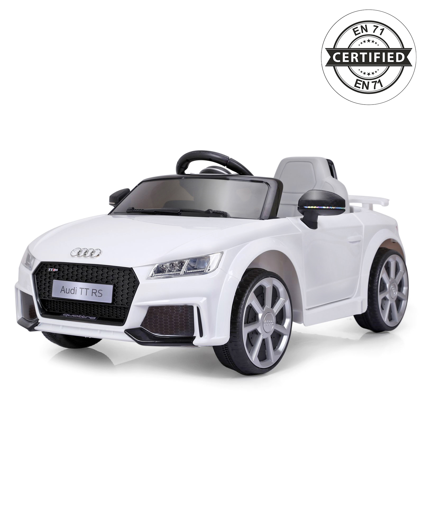 Audi Tt Rs Battery Operated Ride On White Online In India Buy At Best Price From Firstcry Com 1893402