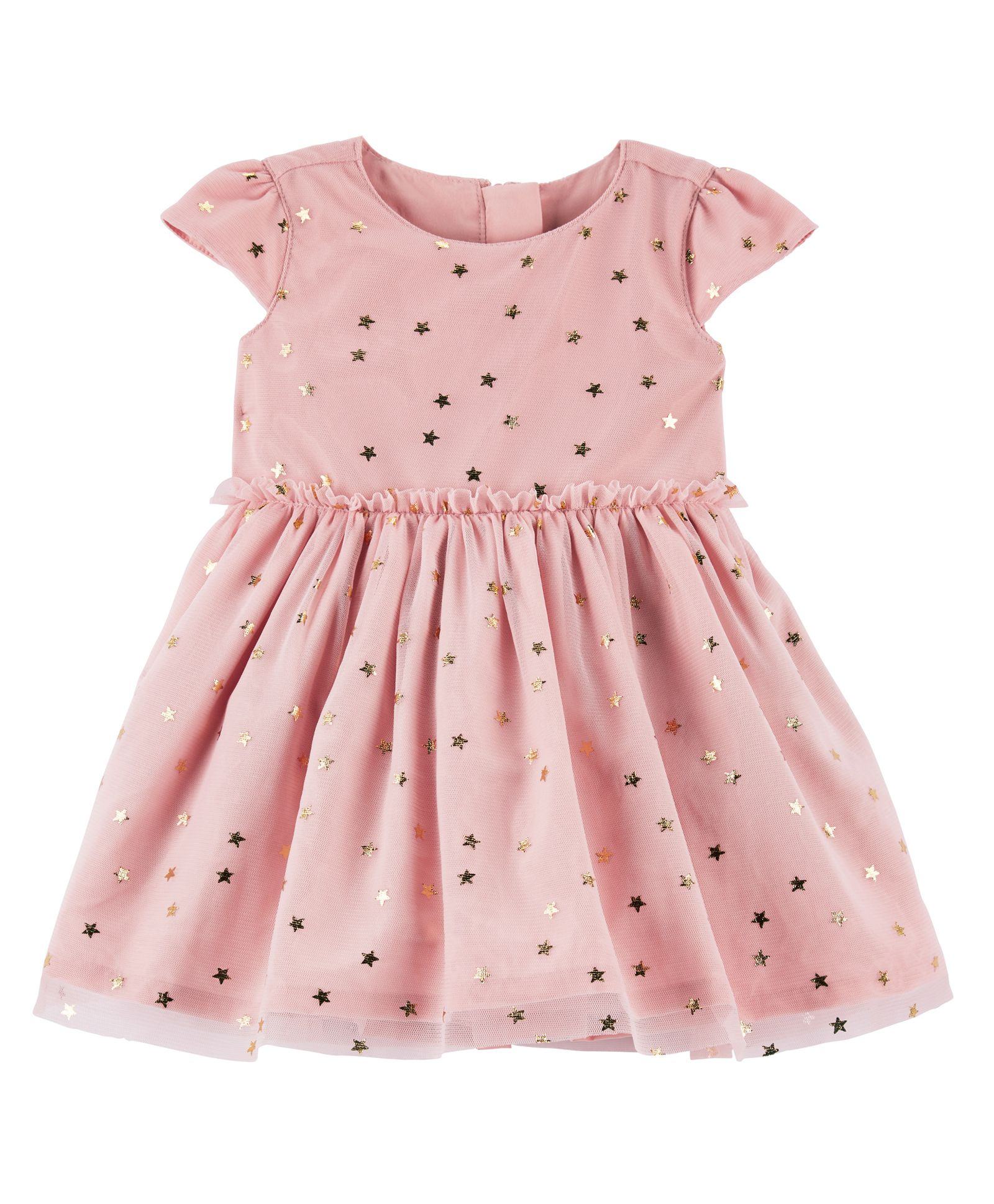 9288965dd Buy Carters Star Tulle Holiday Dress Pink for Girls (0-3 Months) Online ...