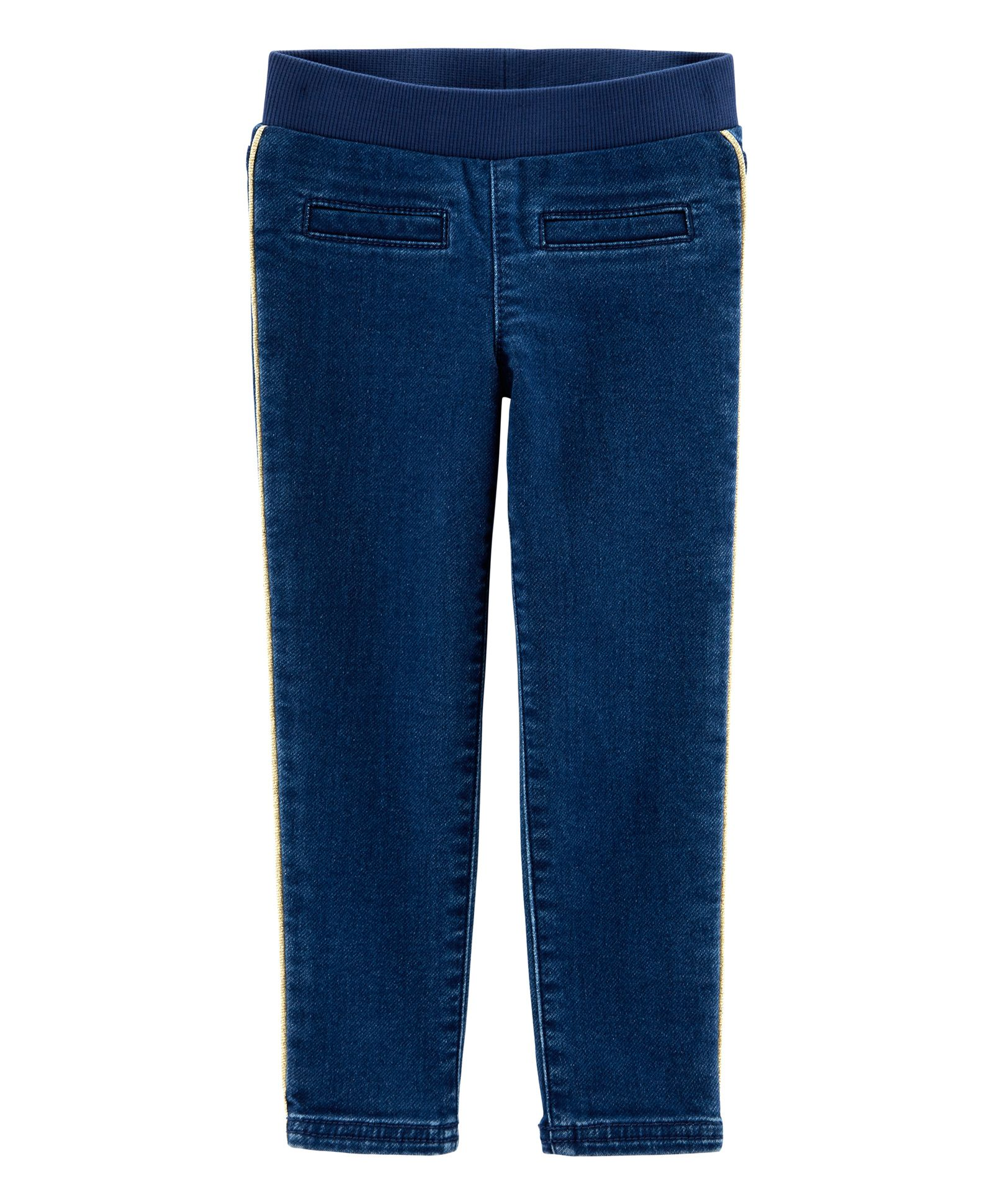 9125c0a6d Carter's Pull-On Skinny Stretch Knit Denim Jeggings - Dark Blue. 3 to 6  Months ...