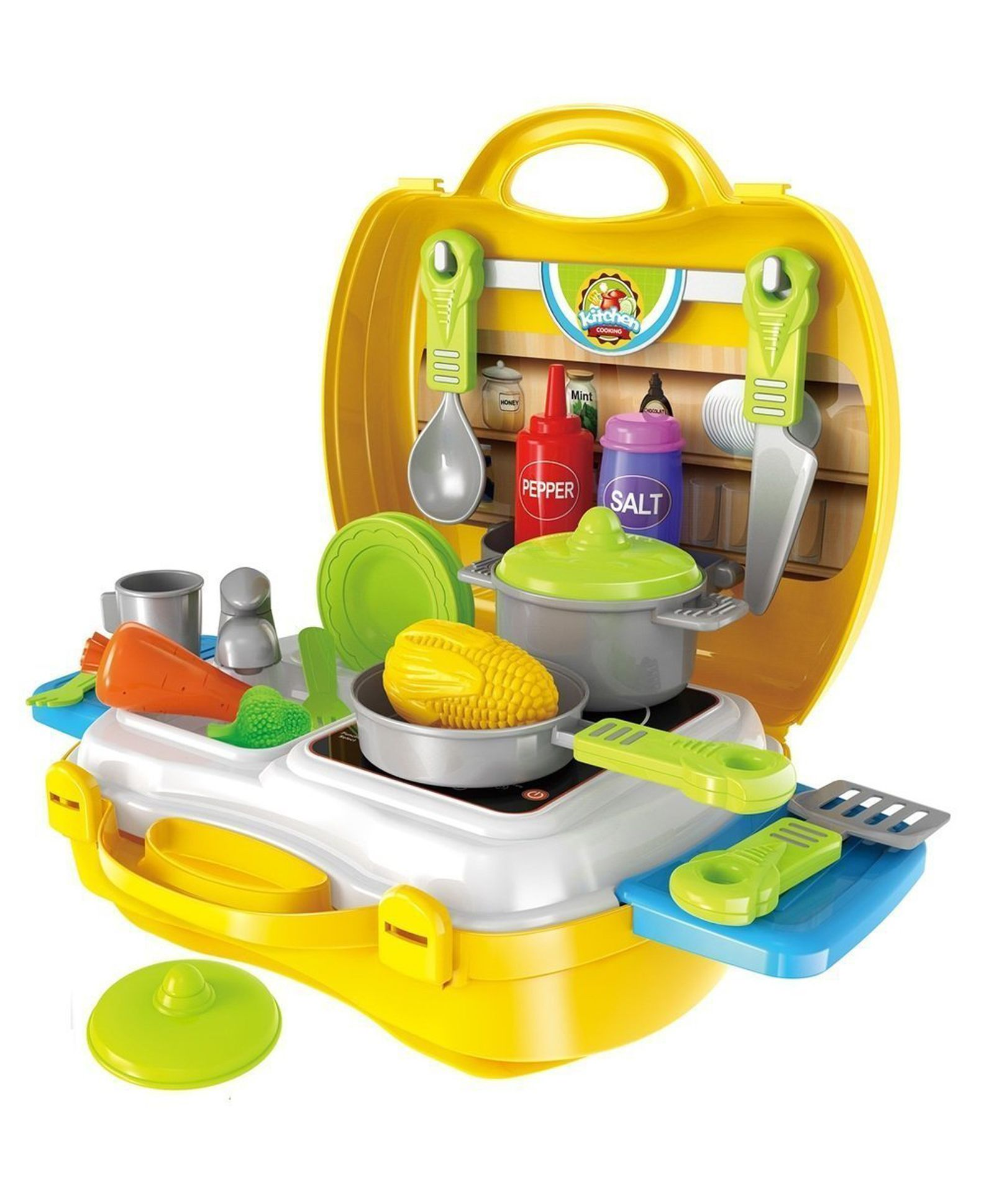 Toys Games Easels Funskool Kitchen Set The Role Play Kit For Boys And Girls From 3 To 8 Years