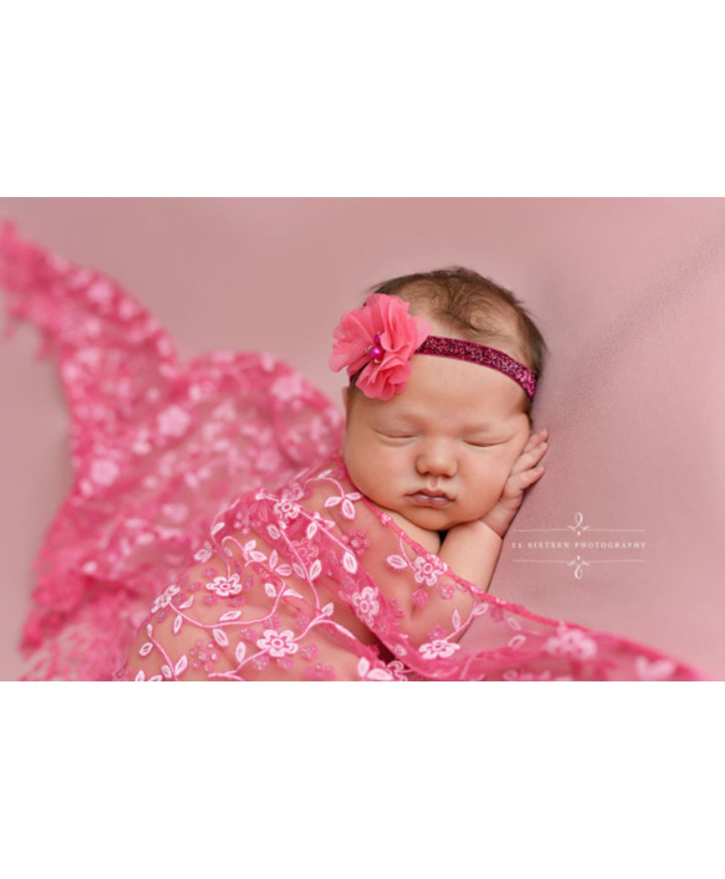 Babymoon Floral Designer Lace New Born Baby Photography Wrap Pink for Girls  (0-12 Months) Online in India, Buy at FirstCry com - 2060677