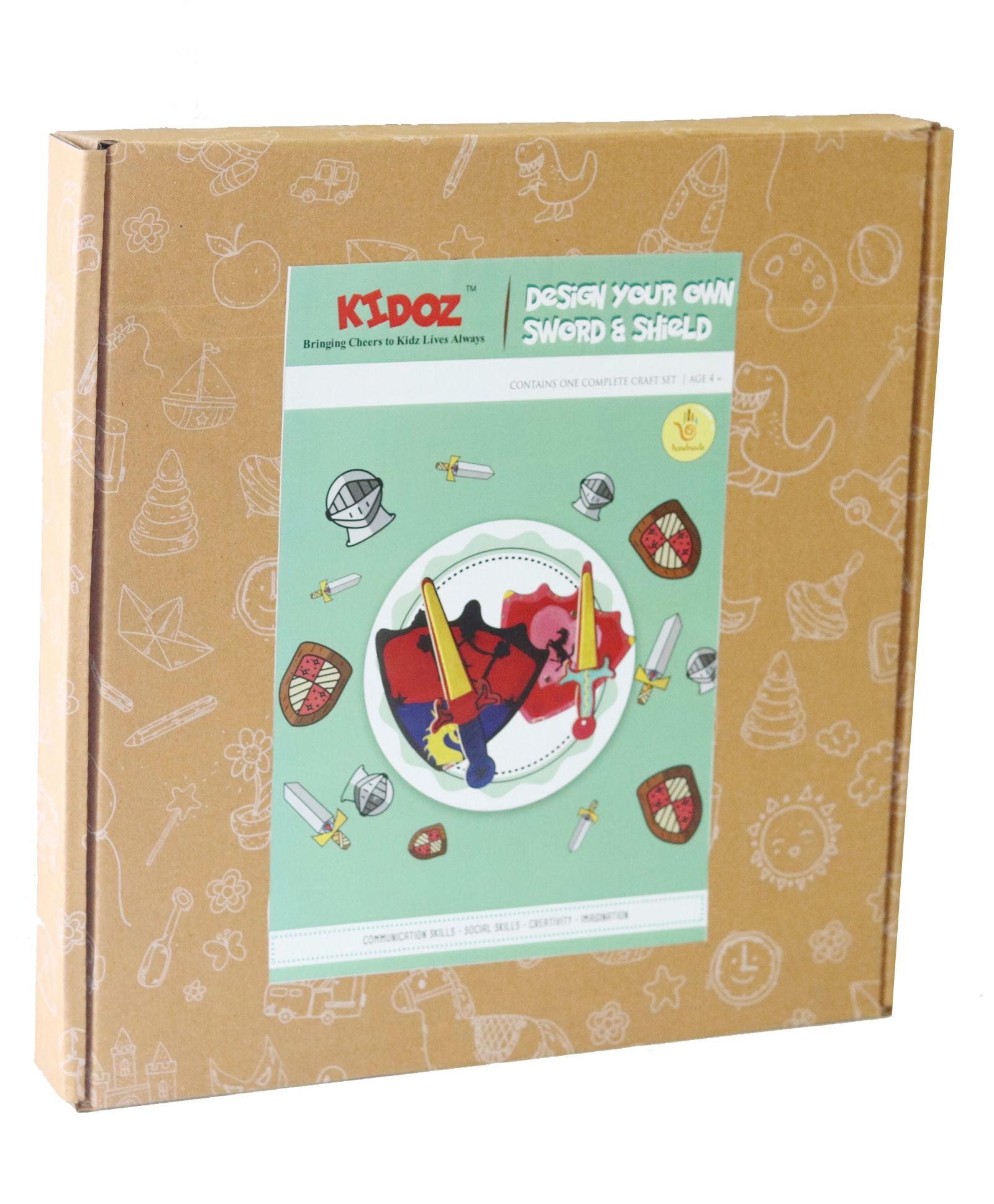 Kidoz My Sword Shield Diy Craft Kit Multicolour Online India Buy