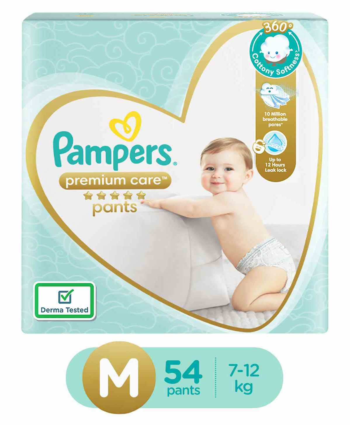b93a20b5a8 Pampers Premium Care Pant Style Diapers Medium 54 Pieces Online ...
