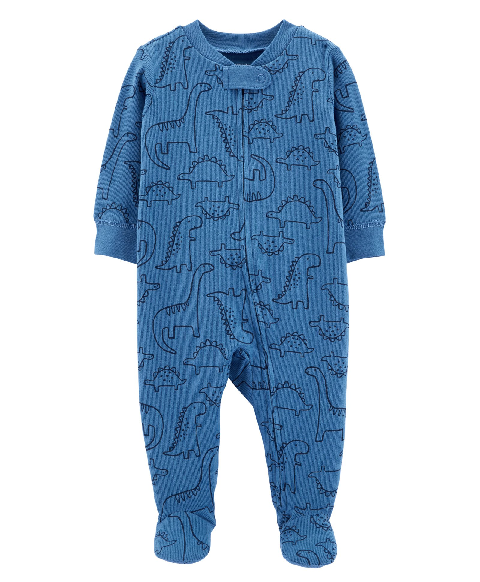f2322bc64 Buy Carters Dinosaur ZipUp Cotton Sleep & Play Blue for Both (3-6 ...