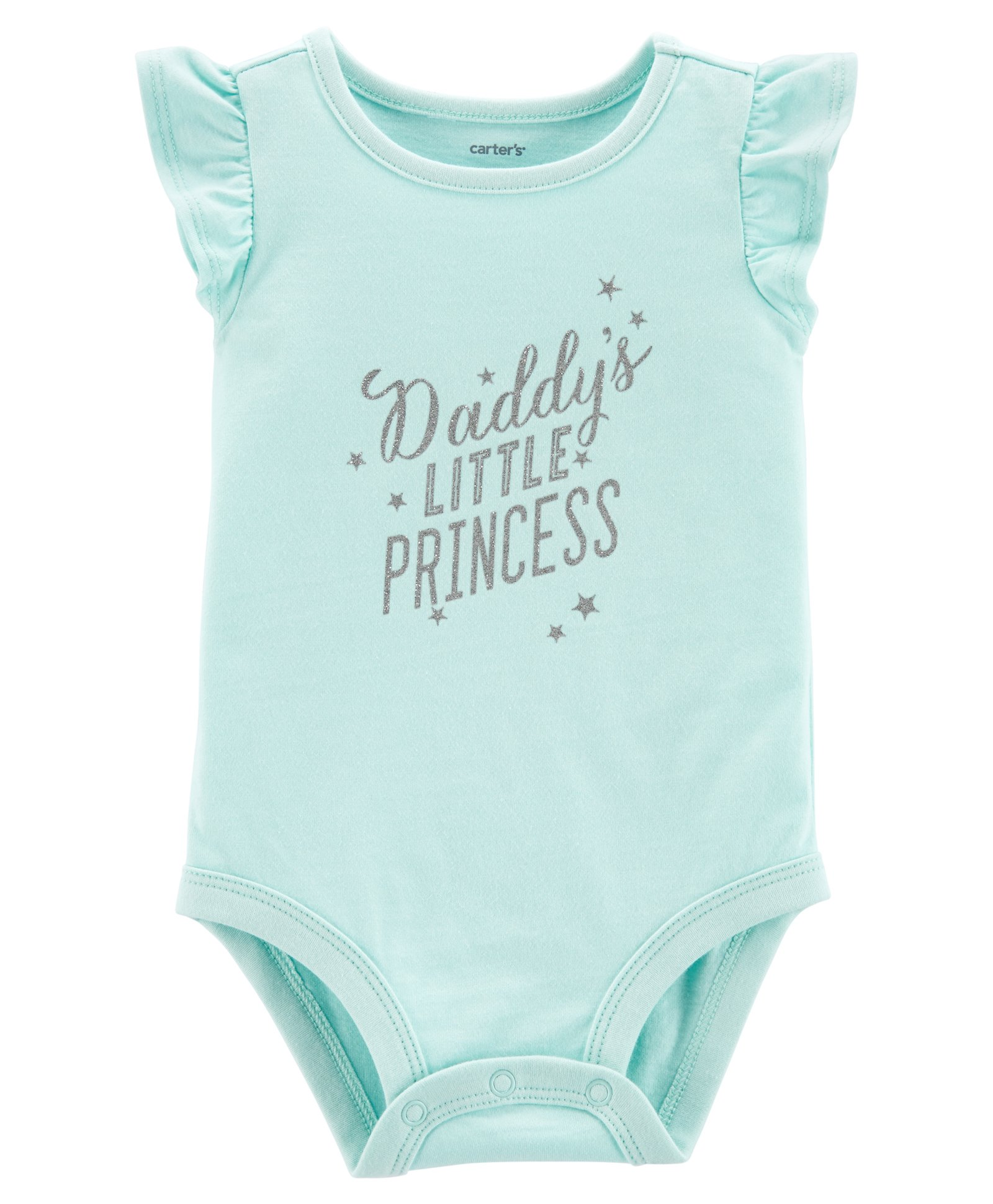 fdbc52da7 Buy Carters Daddys Little Princess Collectible Bodysuit Turquois for ...