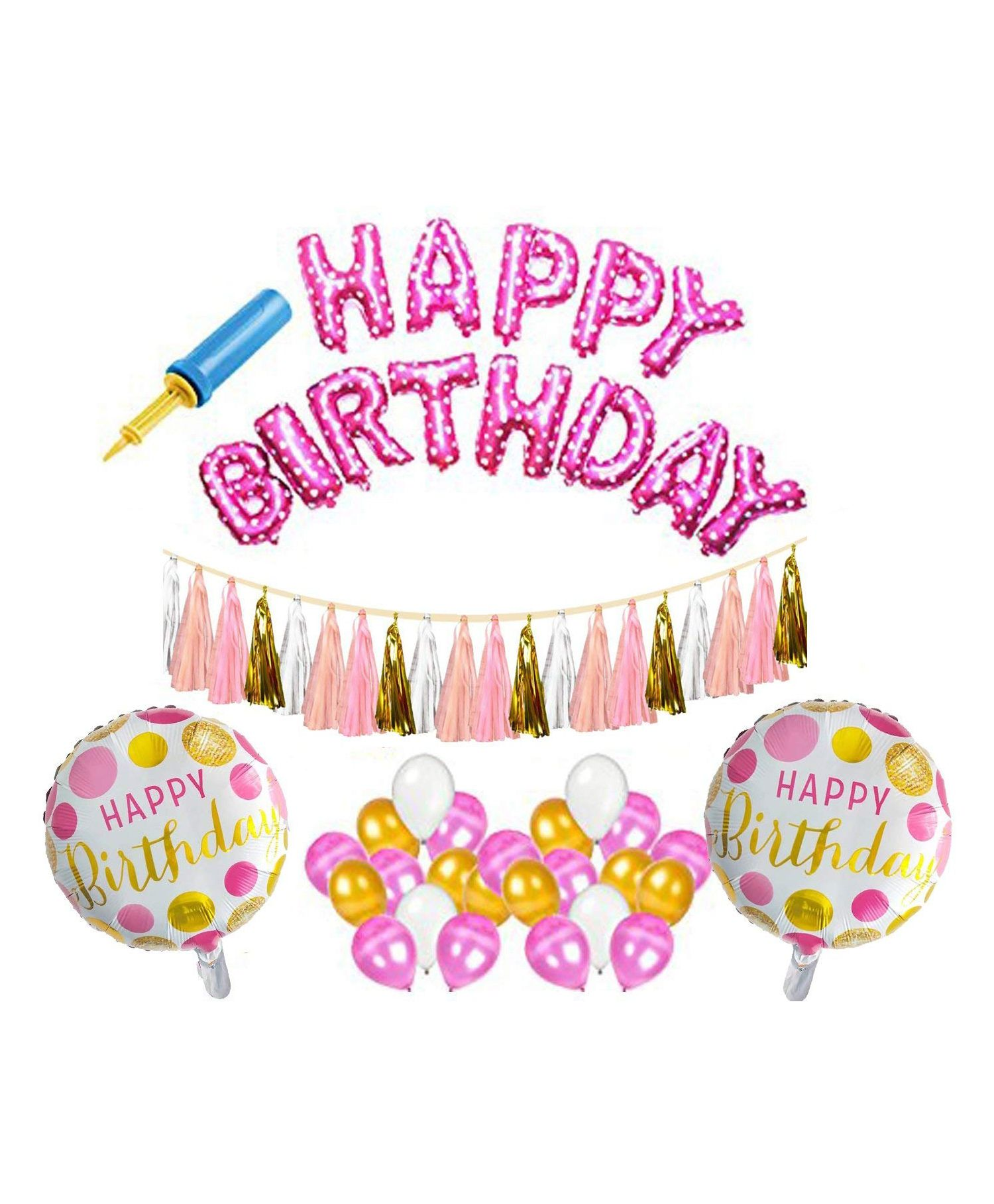 Amfin Birthday Decoration Set