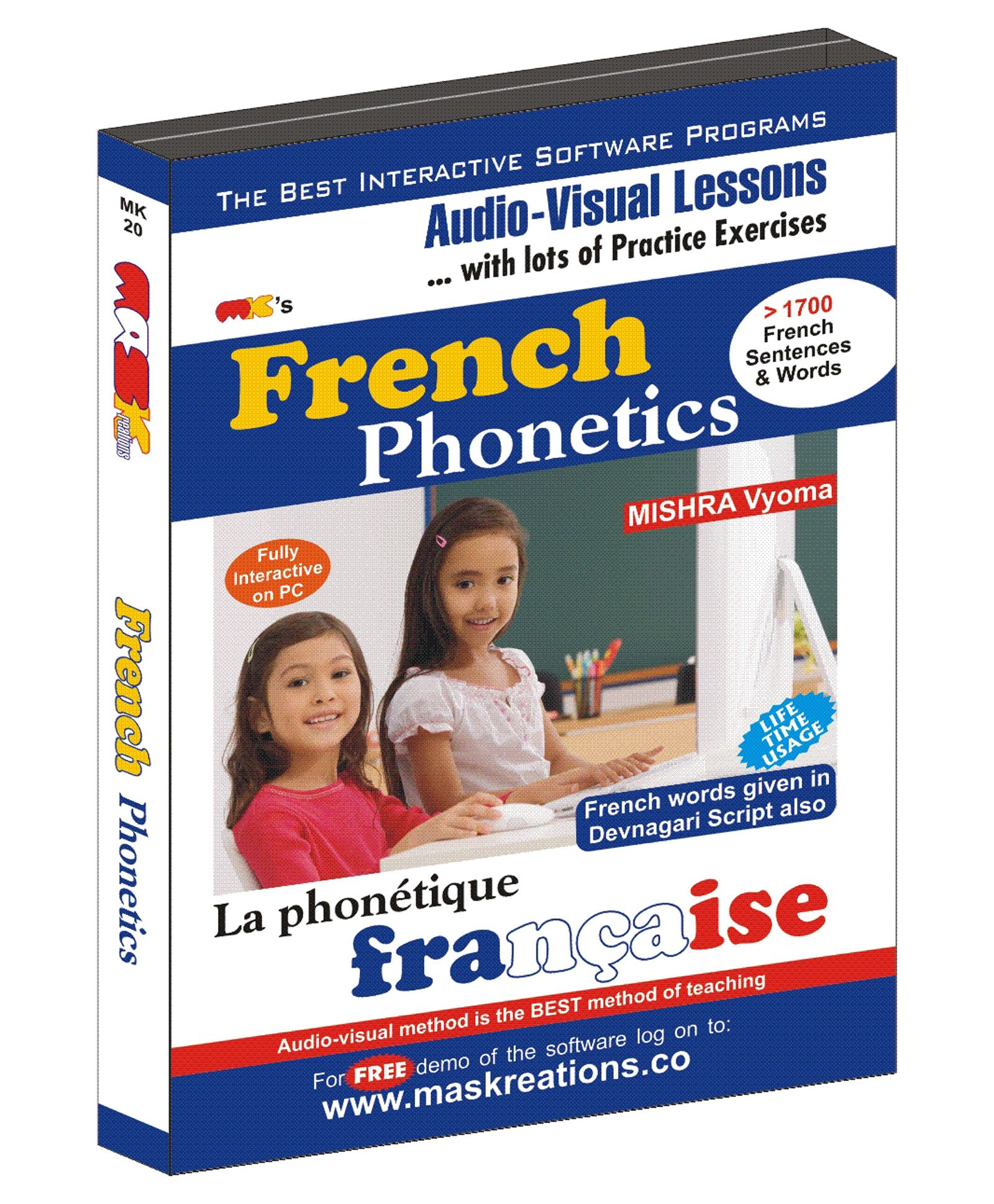 French Phonetics CD English Hindi French Online in India, Buy at Best Price  from Firstcry com - 2256673