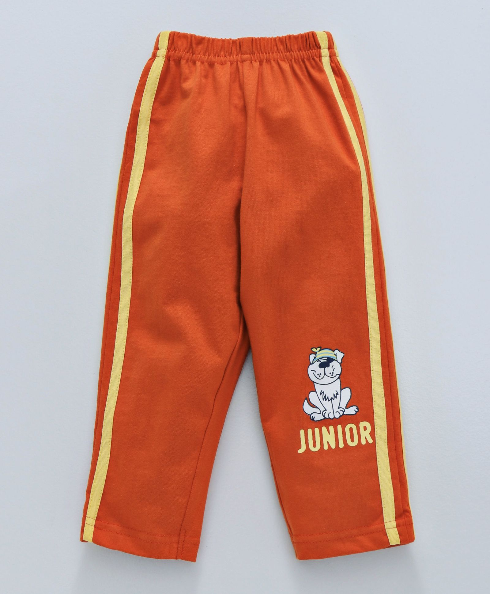 57829a8141de Buy Tango Full Length Track Pants Junior Print Orange for Boys (6-12 ...