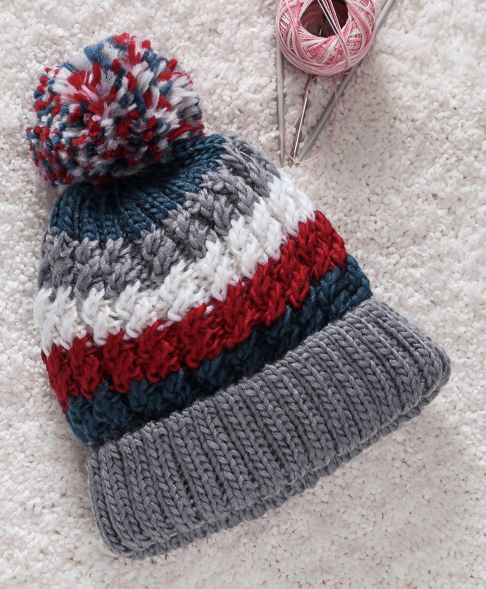 cfc031a68a2 Babyhug Winter Wear Cap With Pom Pom Motif Grey Online in India ...