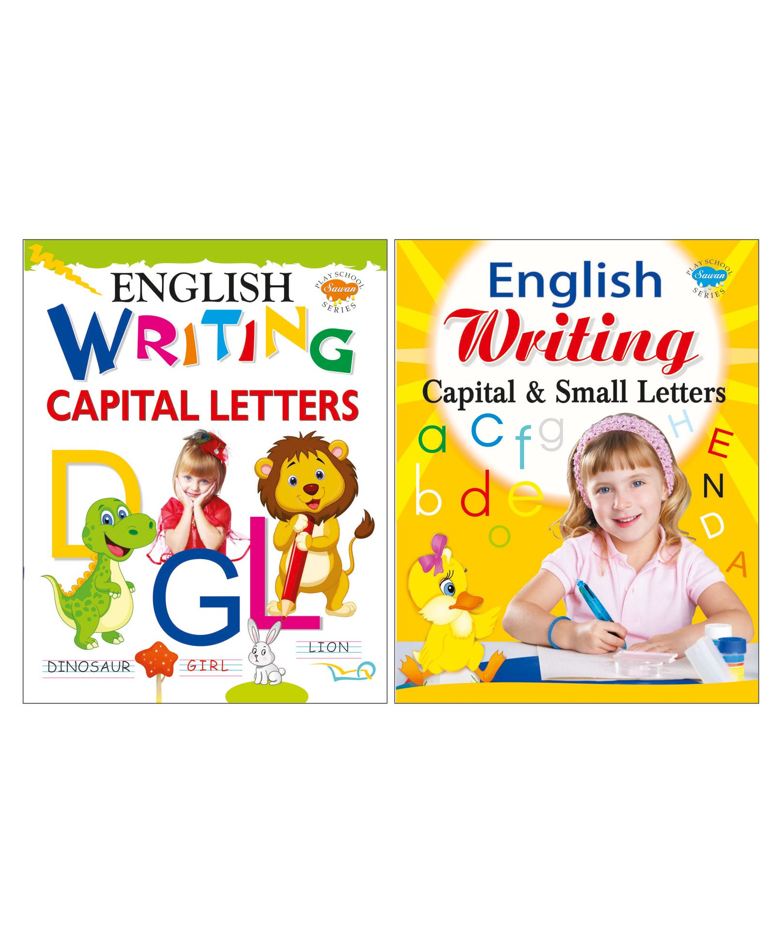 Set of 2 English Writing Books Yellow White Online in India, Buy at