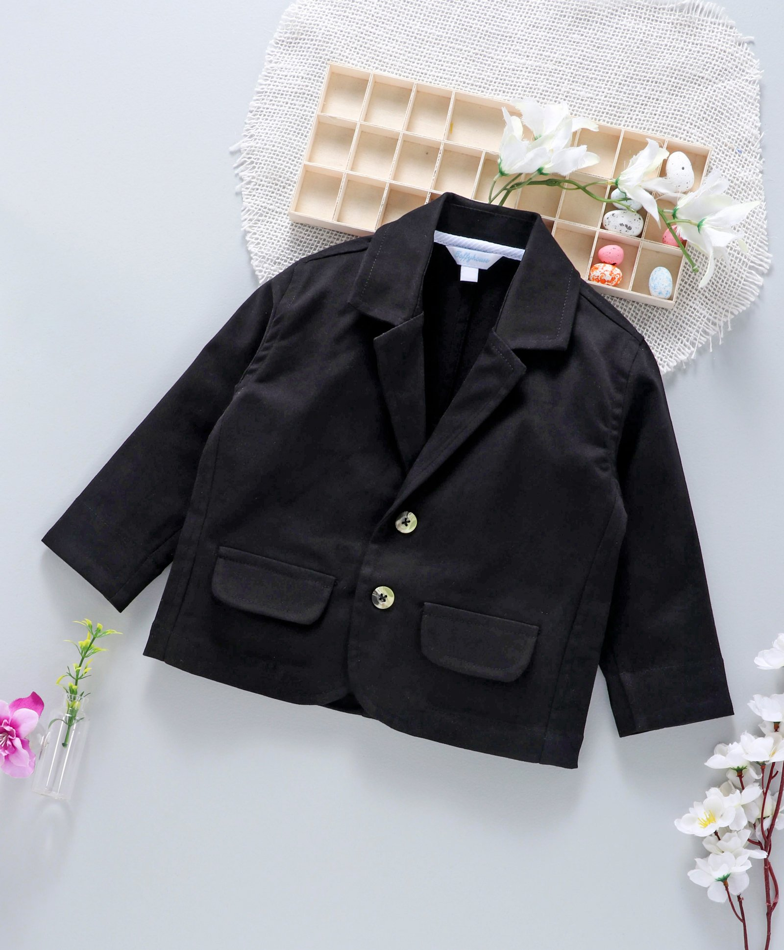 Buy ToffyHouse Full Sleeves Blazer Black for Boys (12-18 Months) Online in  India, Shop at FirstCry com - 2332170