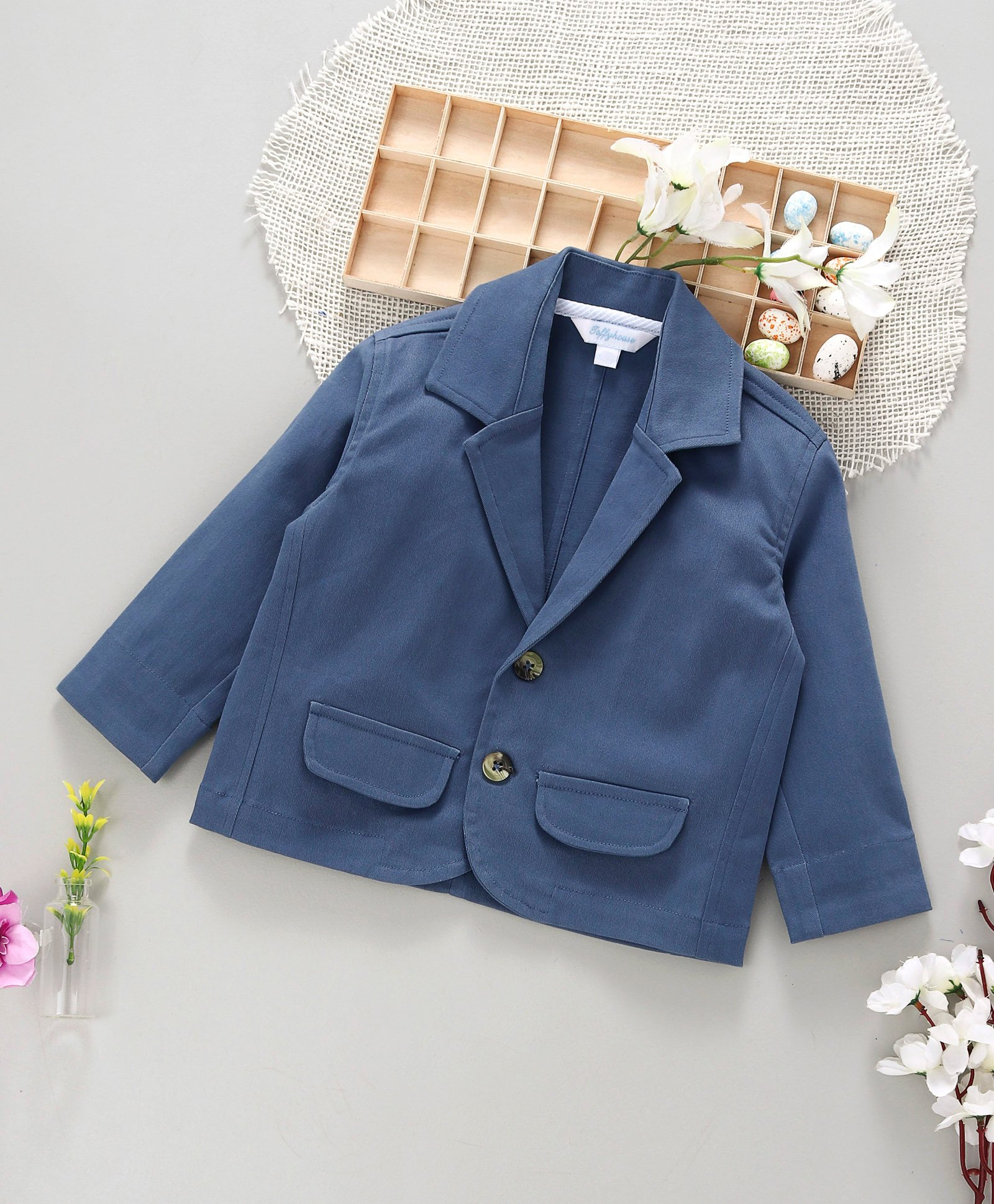 Buy ToffyHouse Full Sleeves Blazer Blue for Boys (2-3 Years) Online in  India, Shop at FirstCry com - 2332184