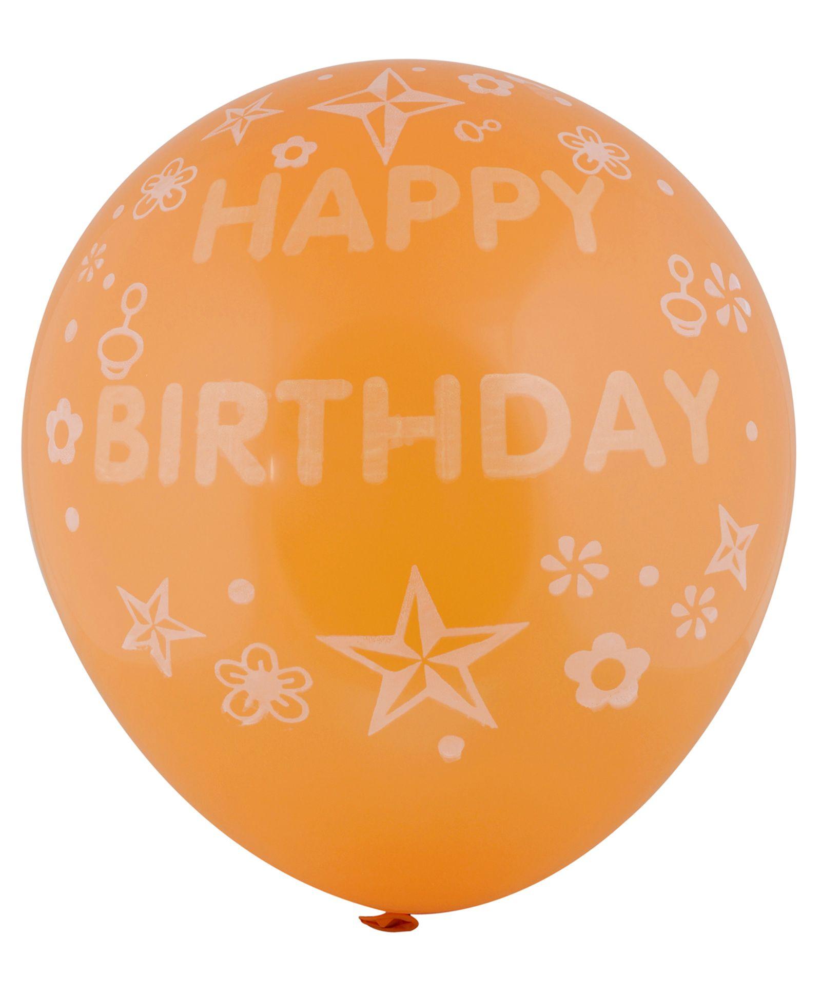SmartCraft Happy Birthday Big Balloon Colour May Vary