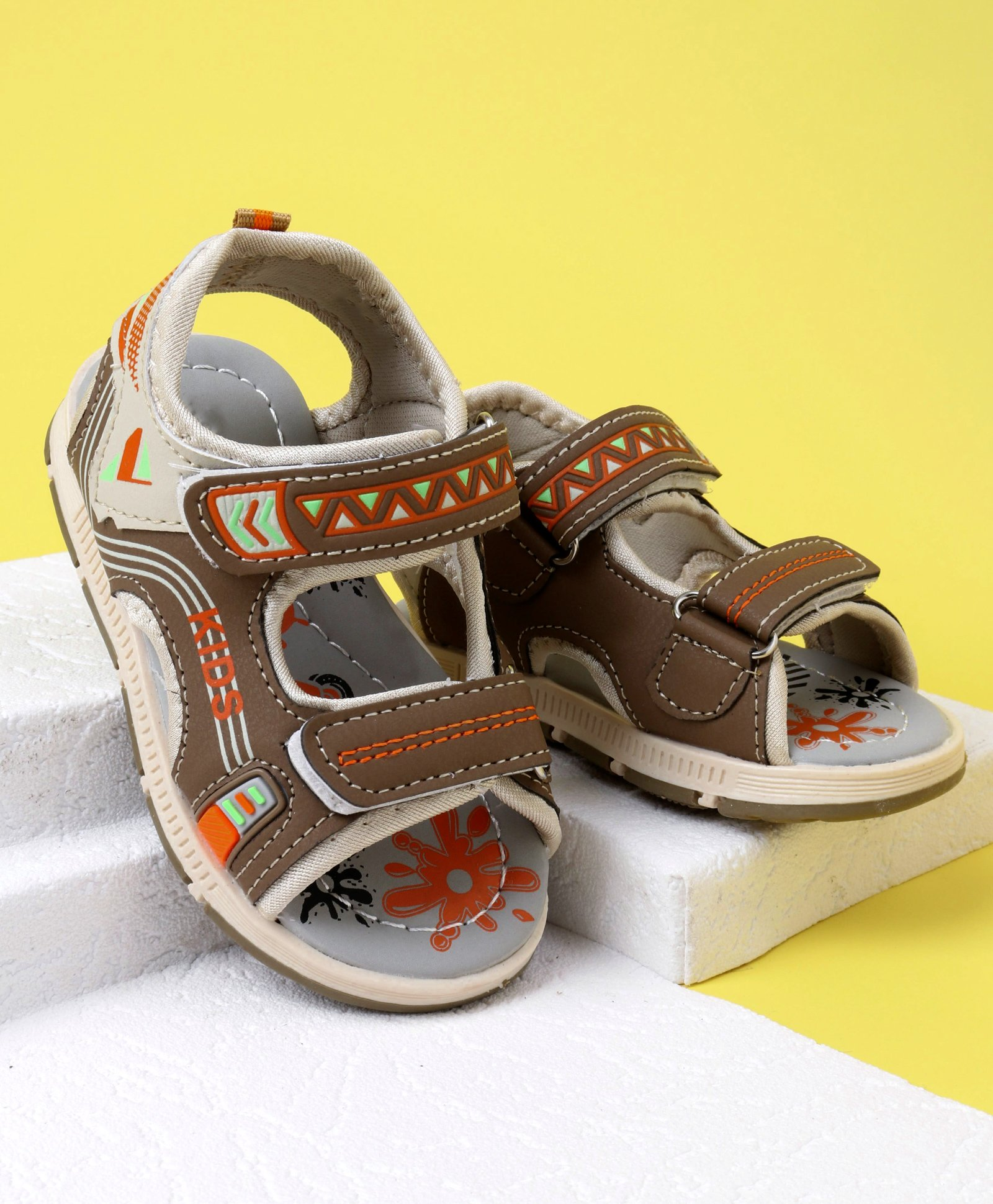 25970c07f60f Buy Cute Walk by Babyhug Sandals Brown for Boys (2-2 Years ...