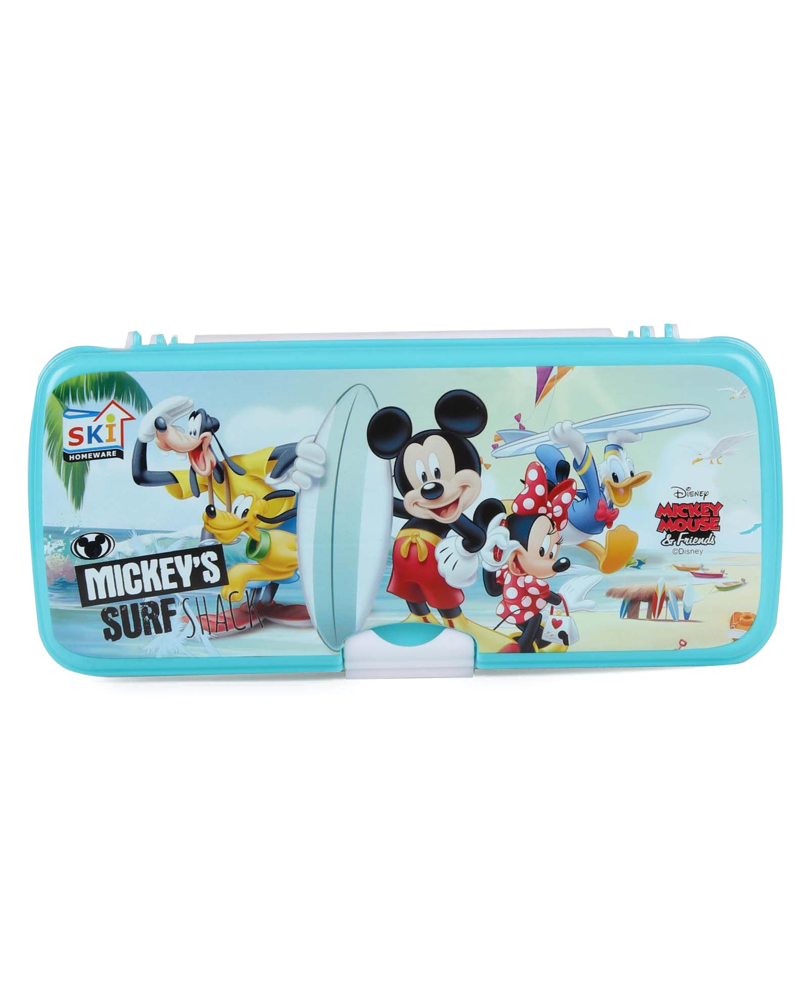 017bc1a1092e0 Disney Mickey Mouse   Friends Surf Pencil Box Blue Online in India ...