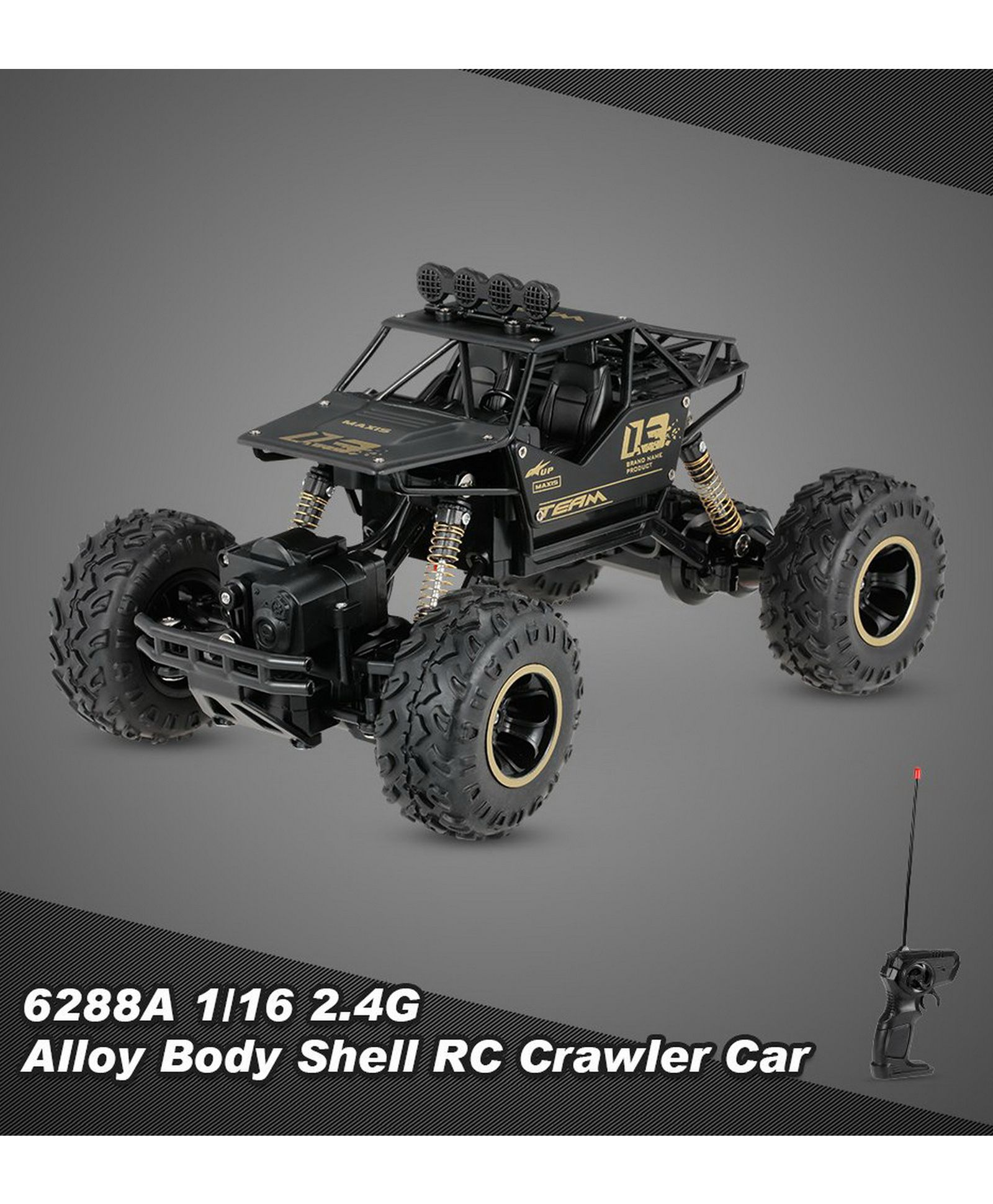 Yamaha Remote Control Rock Crawler Toy Black Online India