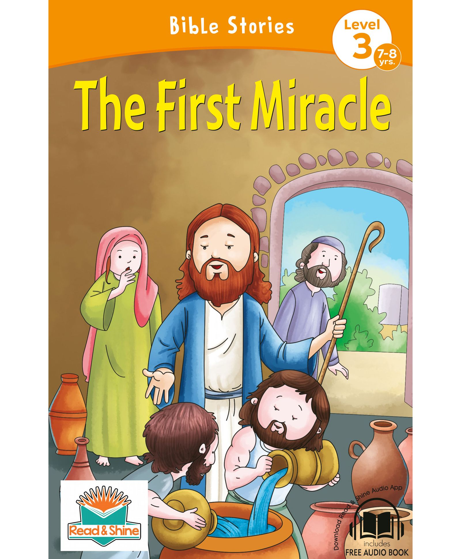 The First Miracle Bible Stories With Audio Book English Online in India,  Buy at Best Price from Firstcry com - 2854295