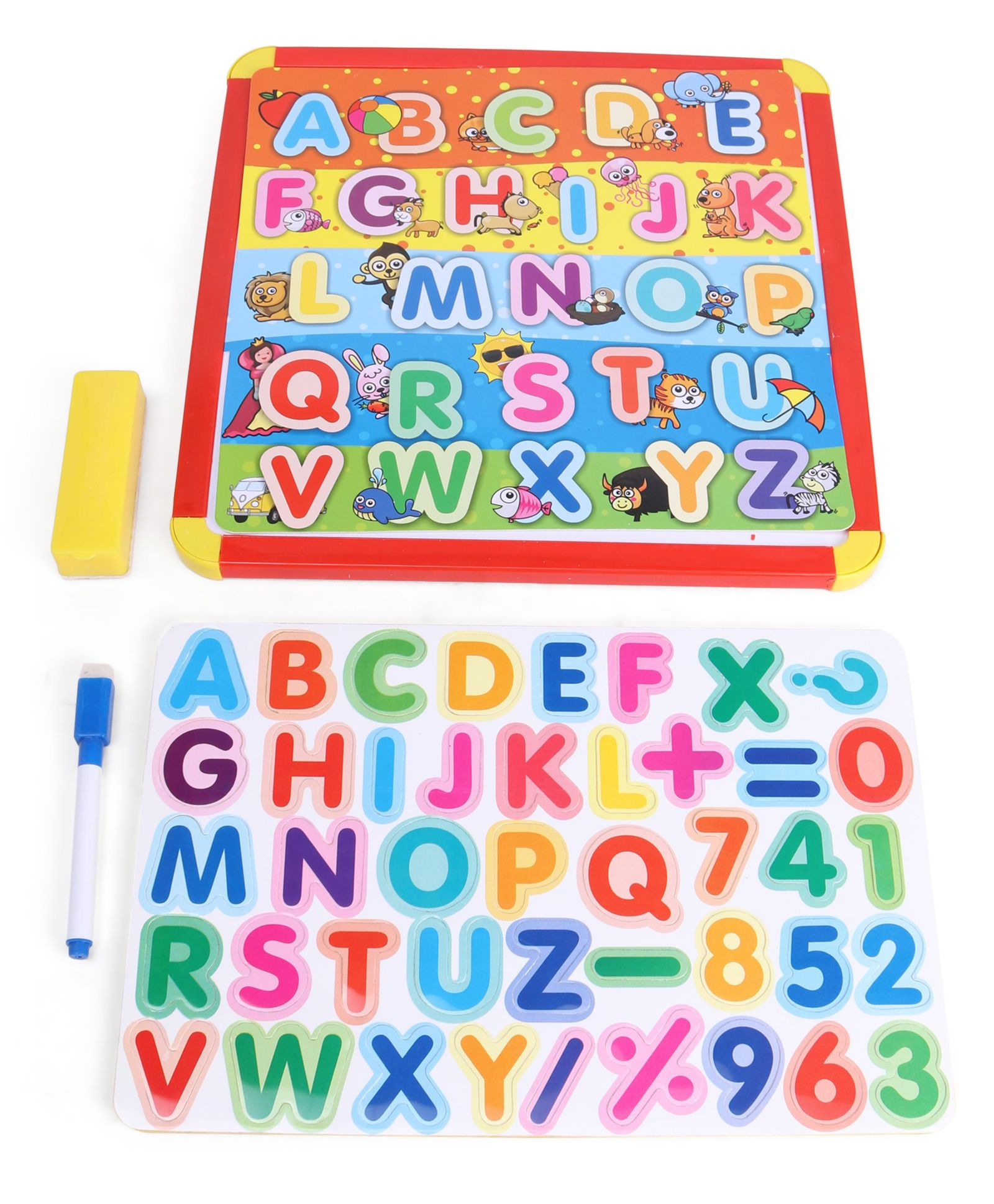 Itoys 4 In 1 Magnetic Slate 43 Pieces Black & Blue Online in India, Buy at  Best Price from Firstcry com - 2860297