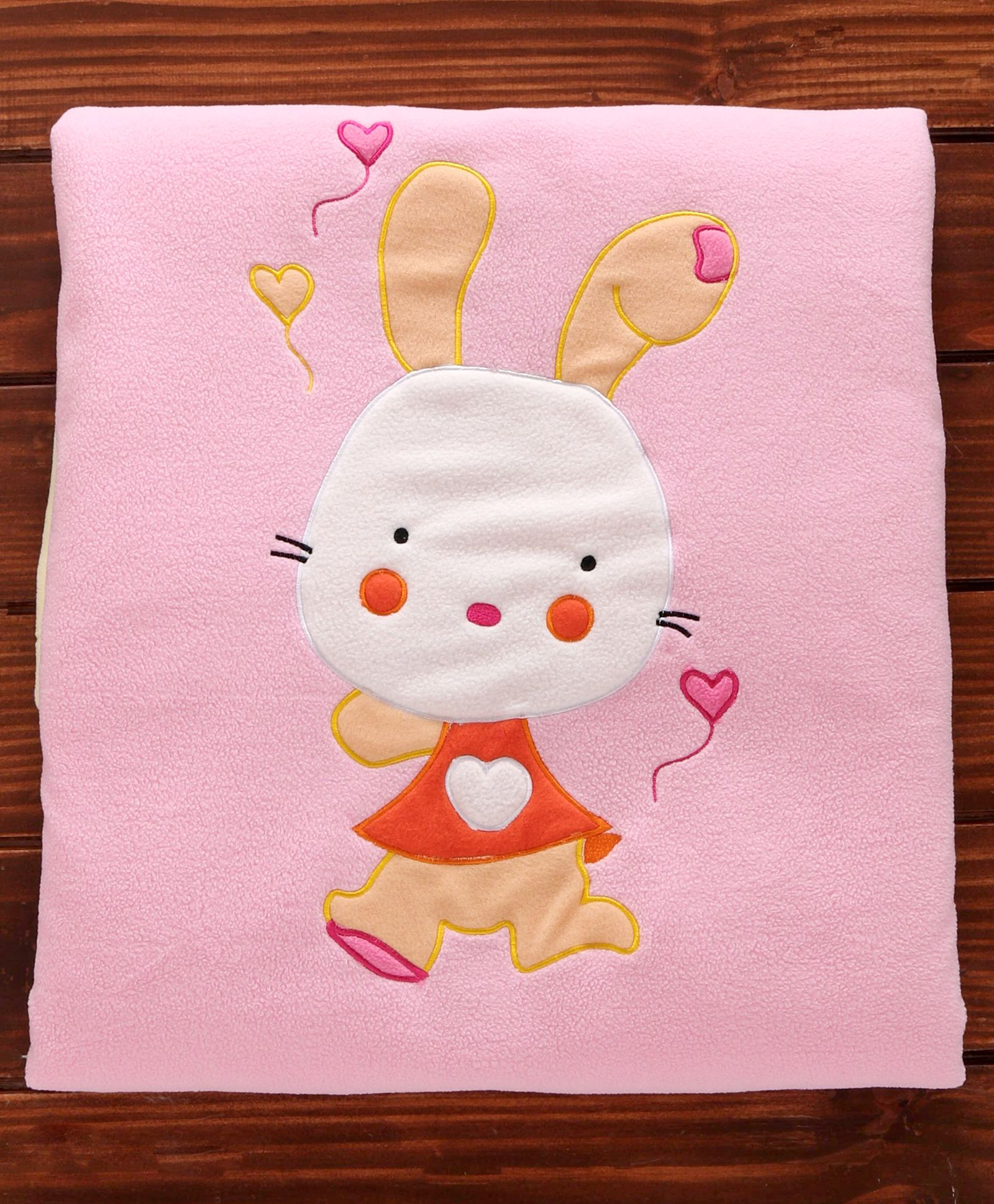 Polyester Baby Blanket Bunny Print Pink Yellow Online In India Buy At Best Price From Firstcry Com 2956772