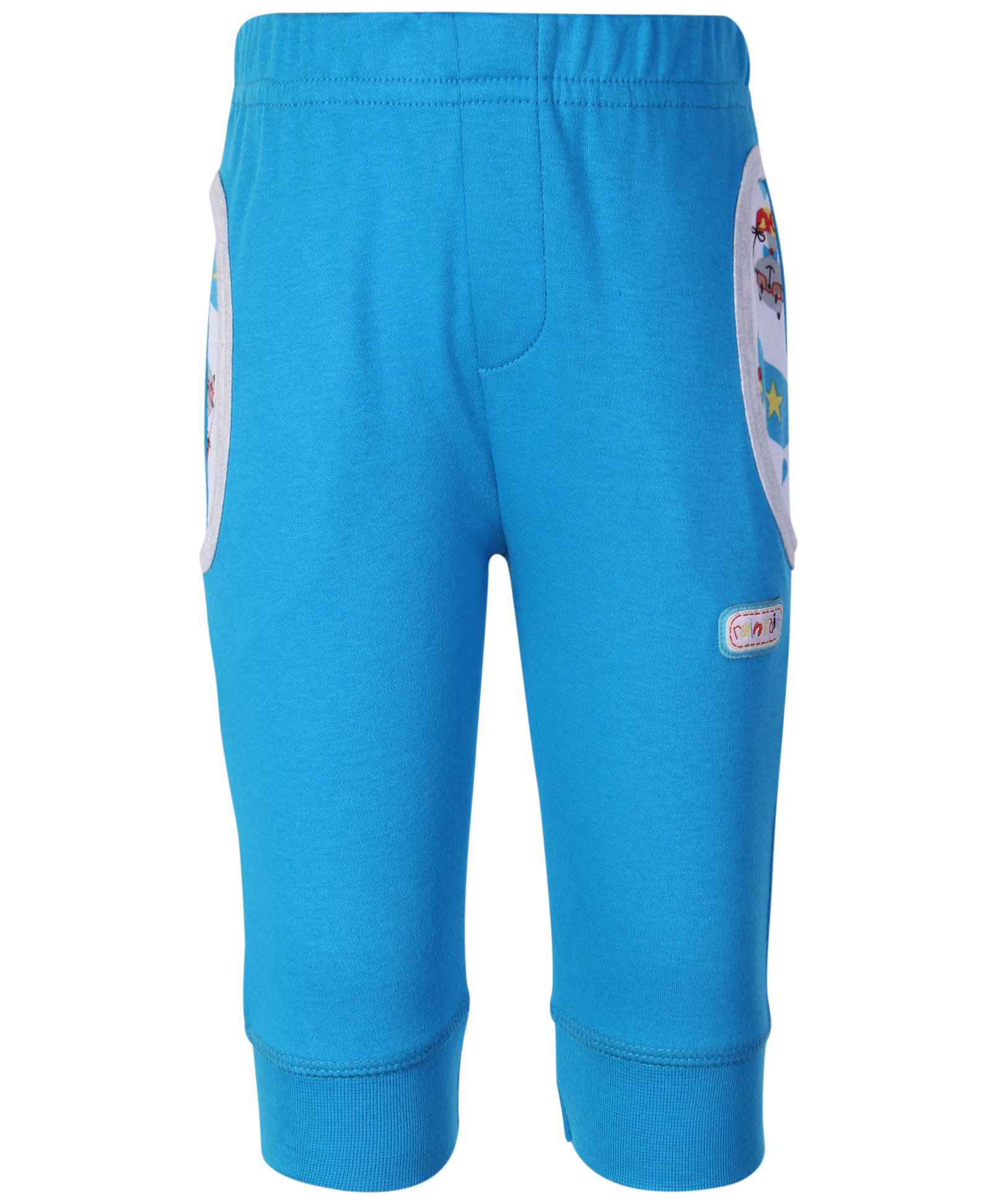 5afcc62bf2d Buy FS Mini Klub Full Length Lounge Pant Blue for Boys ( Months ...