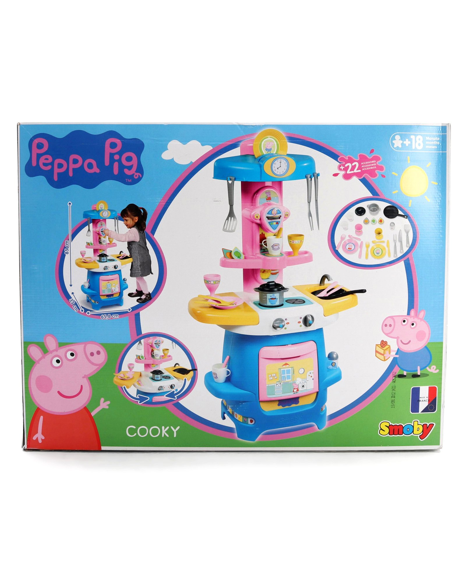 Peppa Pig Cooky Kitchen Set Multicolor Online India Buy Pretend Play Toys For 18 Months 6 Years At Firstcry Com 3438818