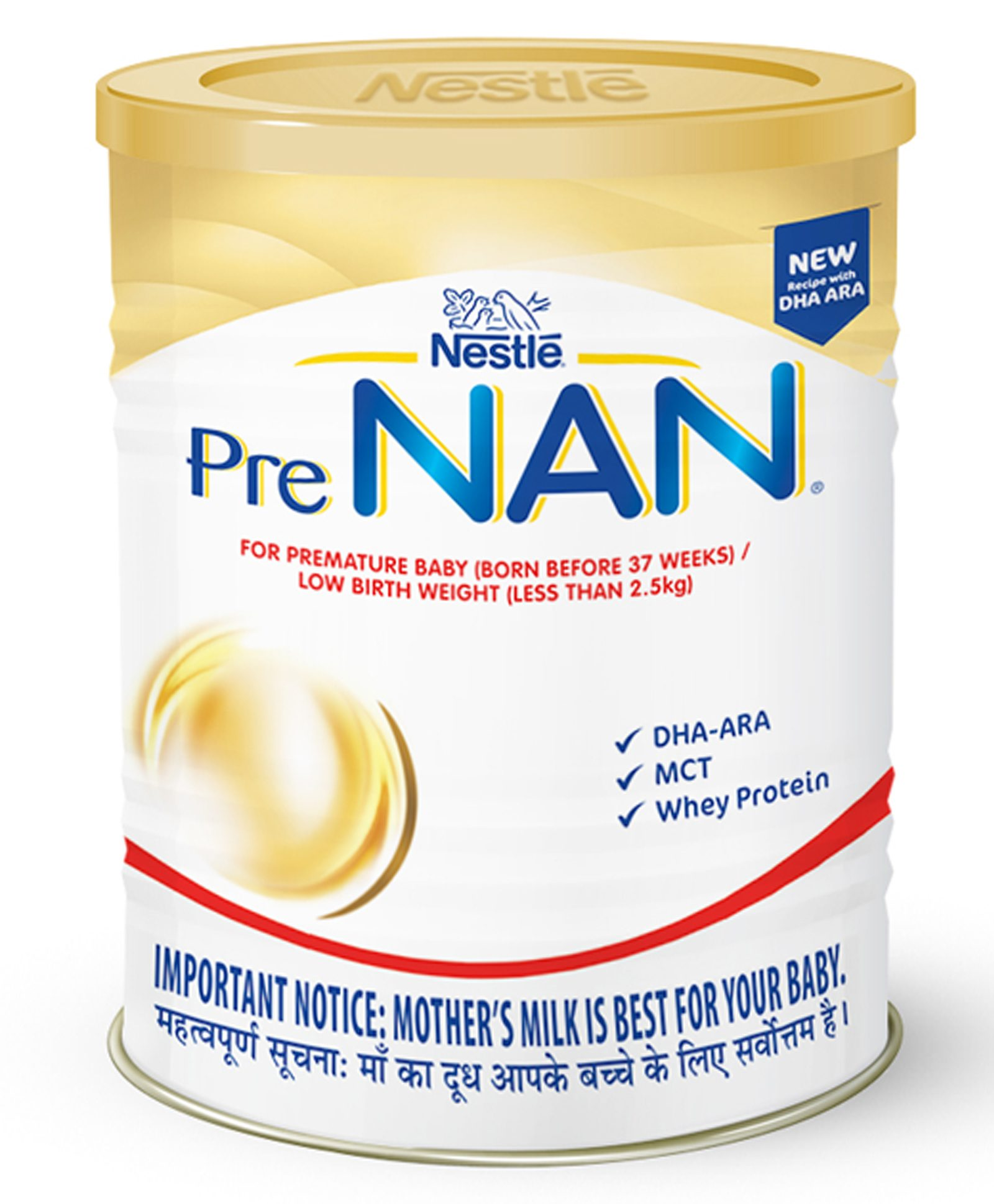PRE NAN Low Birth Weight Infant Milk Formula 400g Refill pack