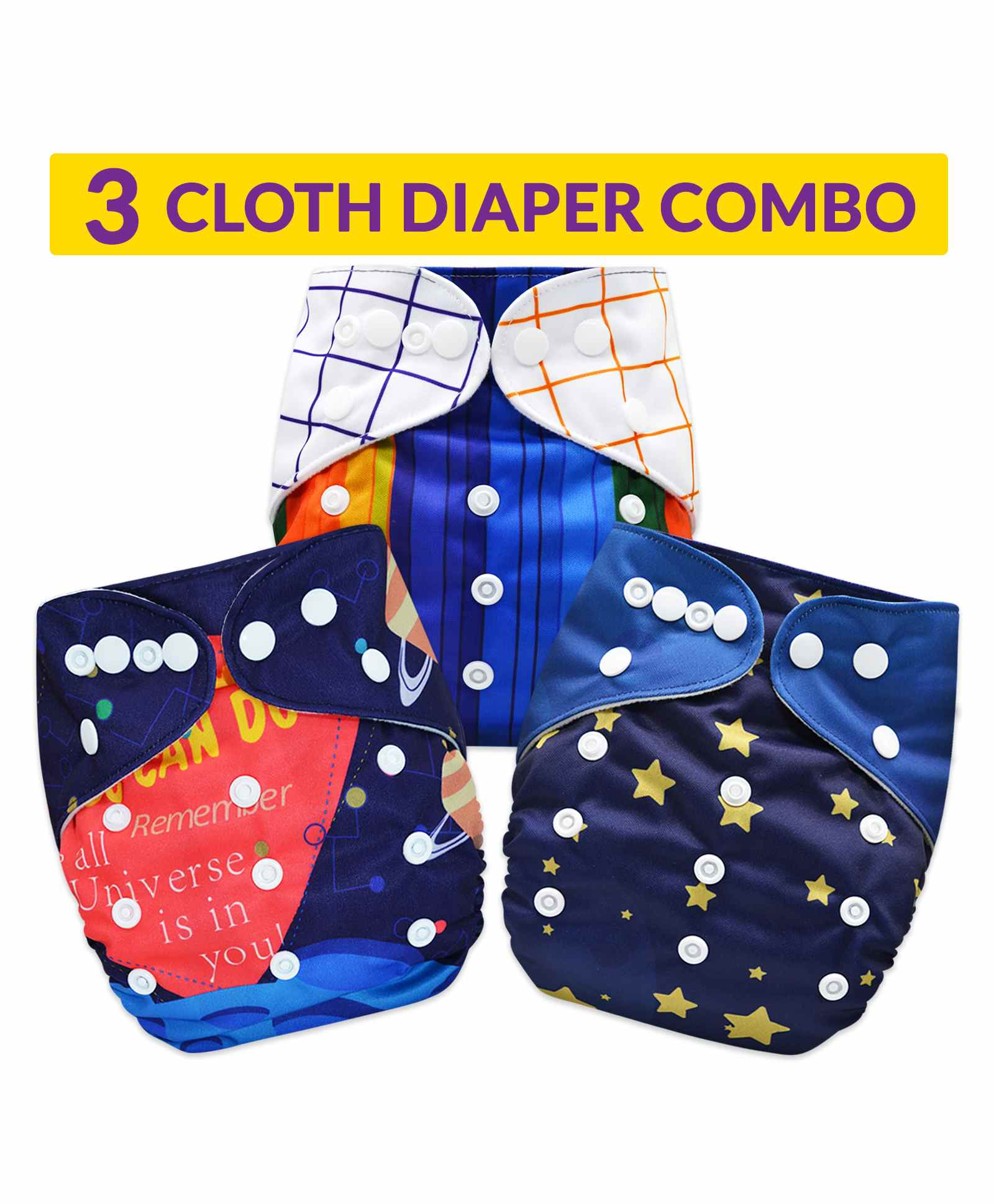 Happy Cherry Diaper Skirt Washable Cotton Kids Training Pants Cloth Diaper Covers Waterproof Leakproof High Waist
