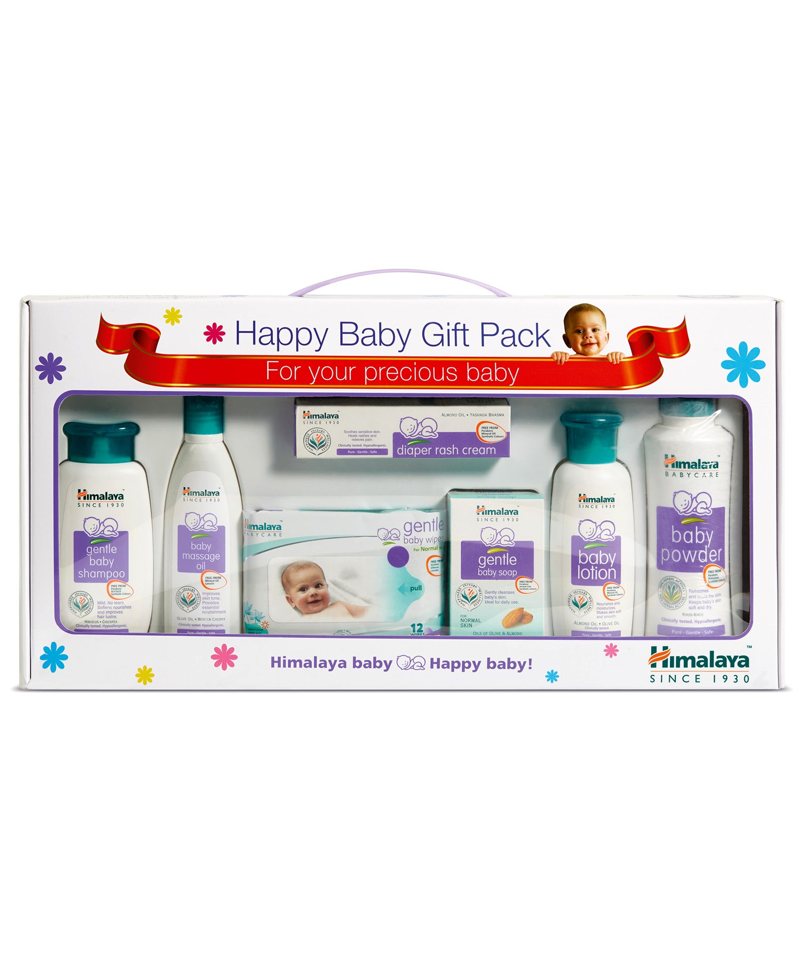 6b9e3dfe9 Himalaya Herbal Babycare Gift Pack Set Of 7 for Both (0-24 Months ...