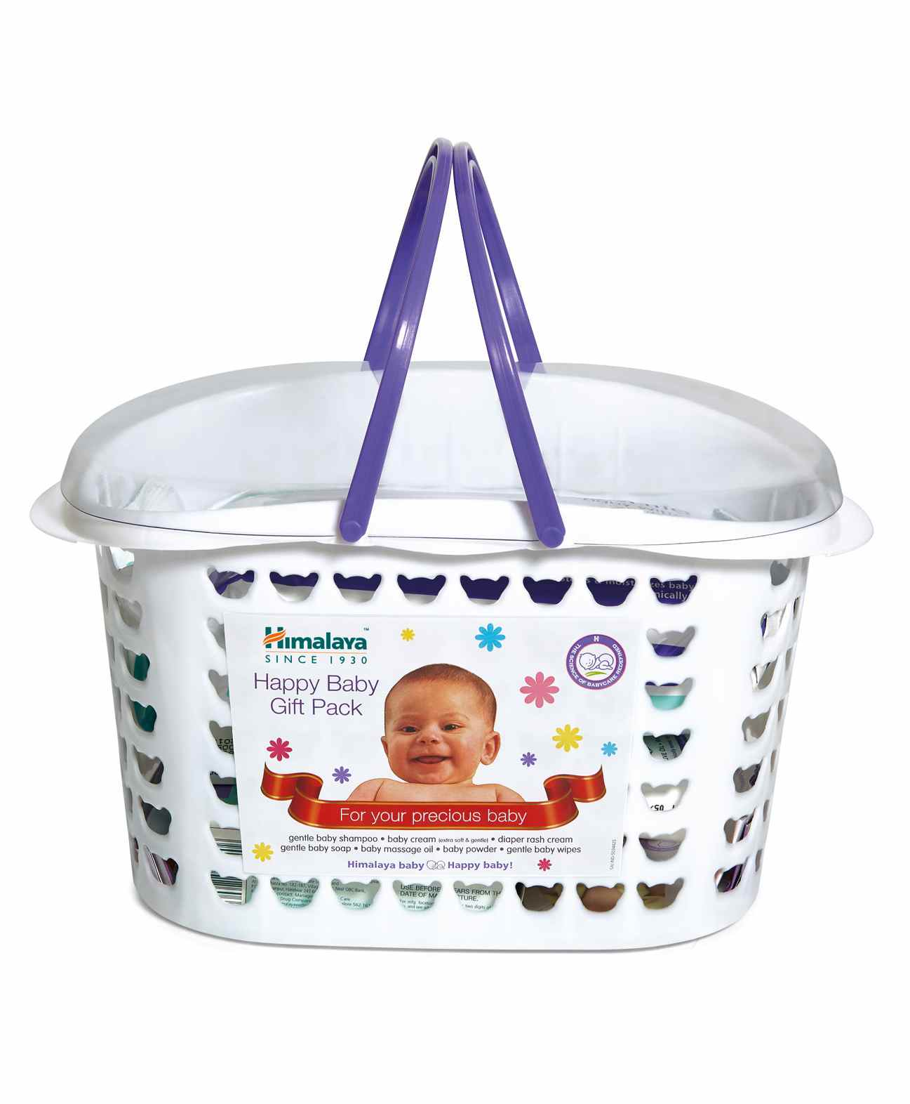 30e8877348bc9 Himalaya Baby Care Gift Basket Pack Set Of 7 for Both (0-24 Months ...