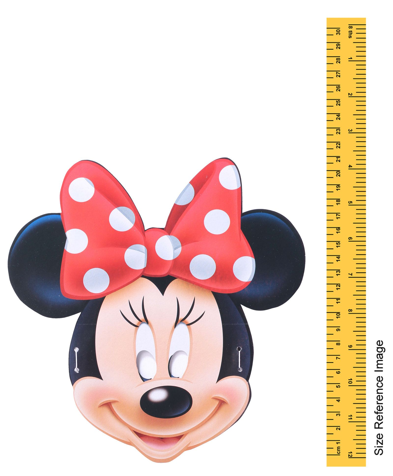Disneys Mickey and Minnie Mouse Red Colored Decorative Border Tape 1 Roll