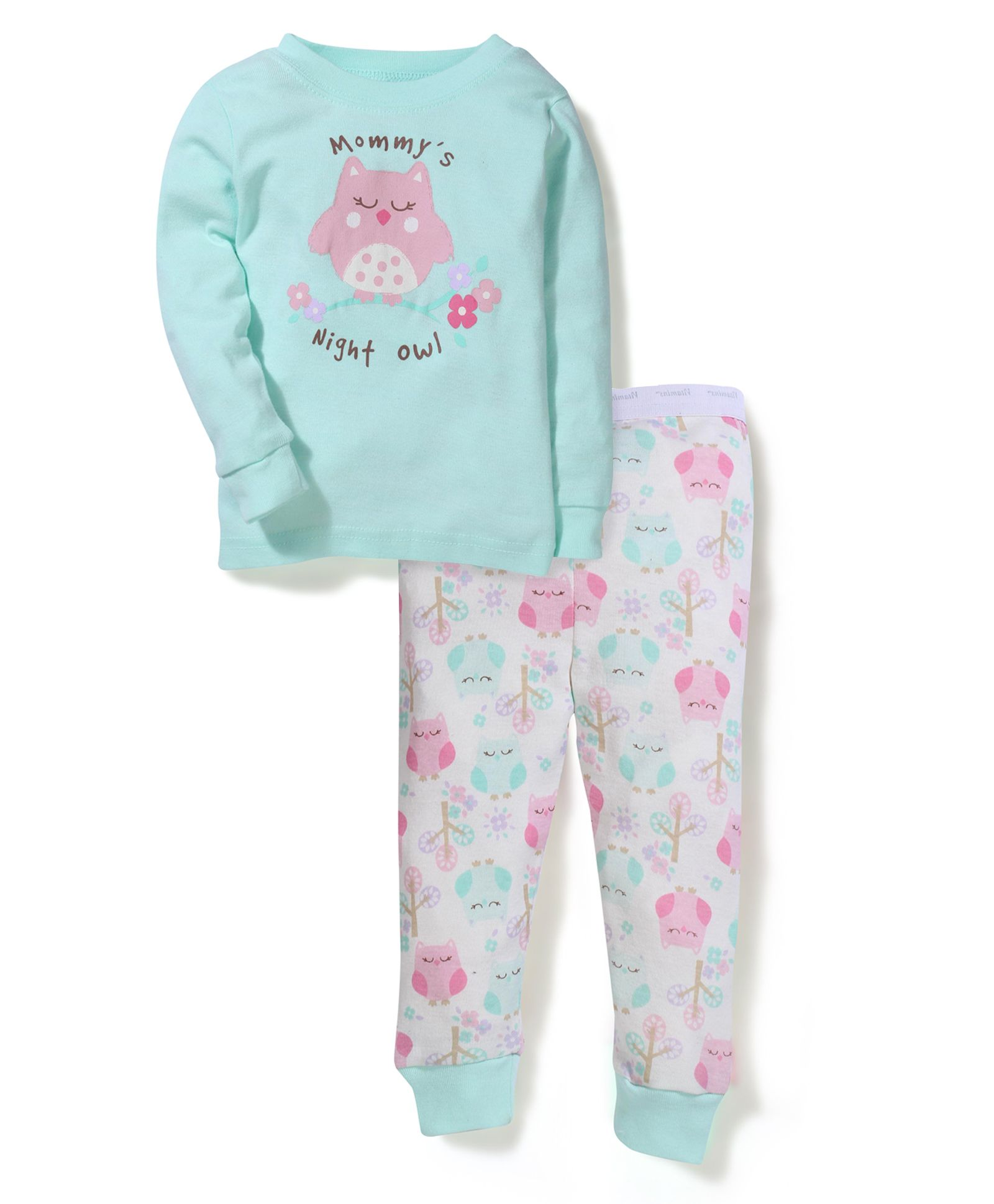 Buy Vitamins Baby Owl Print Set Green for Girls 9 12 Months line