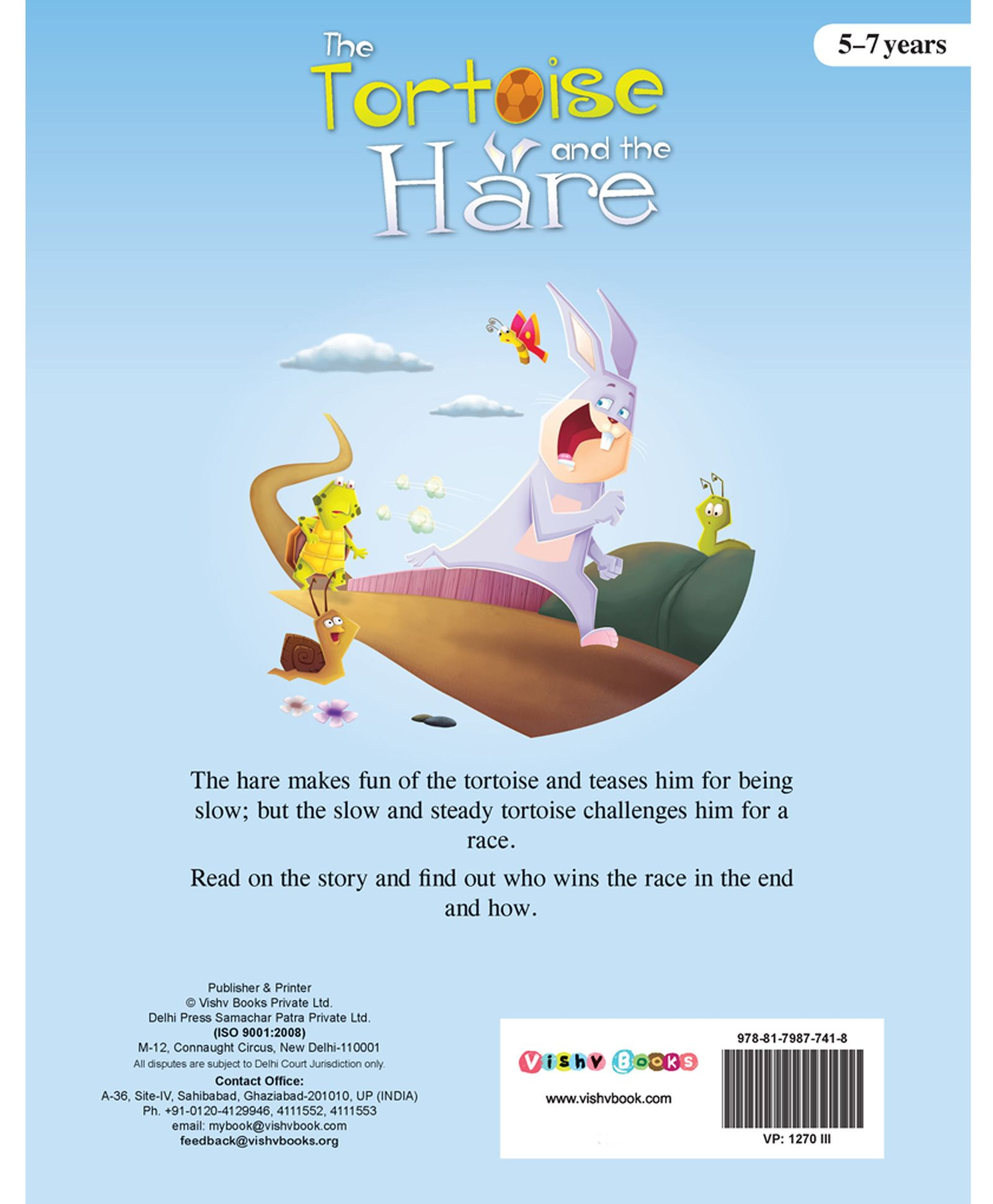 The Tortoise And The The Hare Story Book English Online In India Buy At Best Price From Firstcry Com 839024