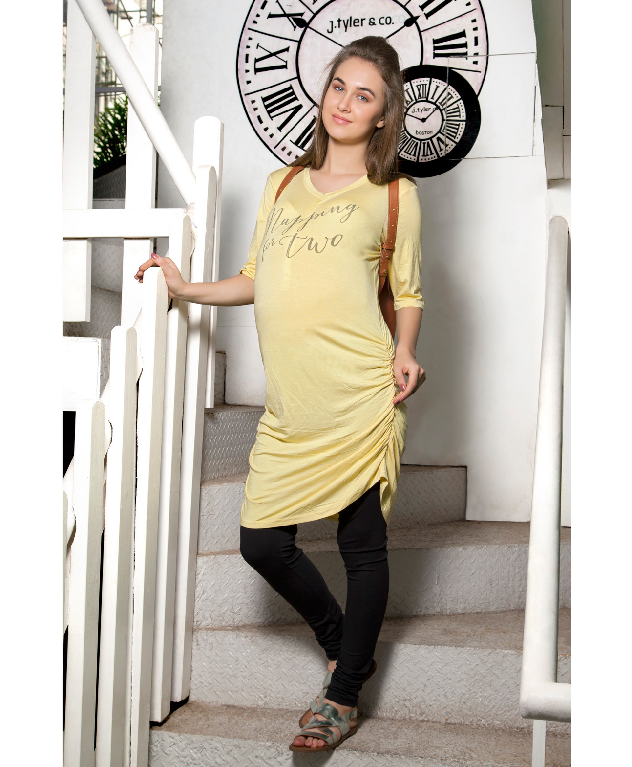 95423962a04e5 Blush 9 Napping Two Printed Tunic Dress Yellow Online in India, Buy ...